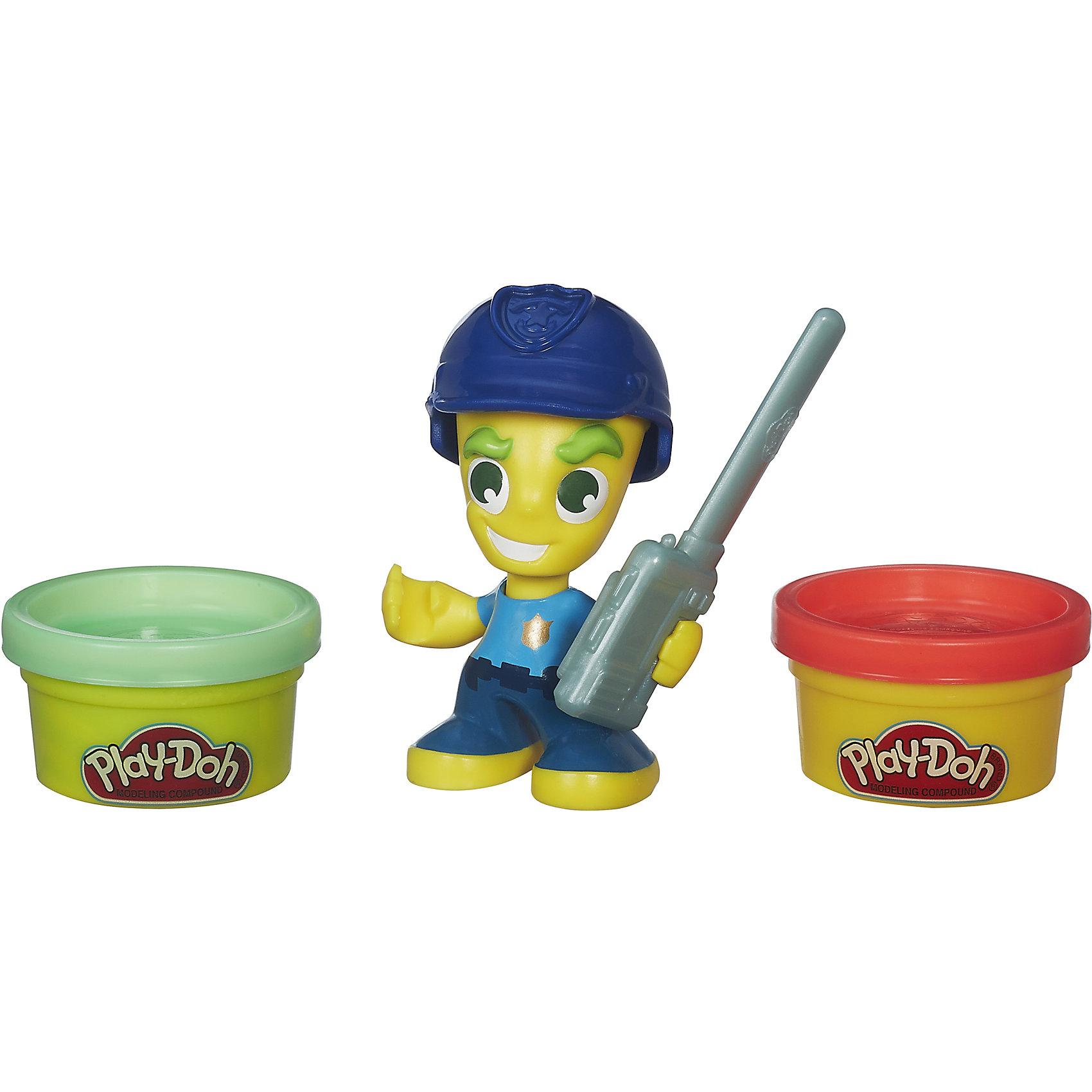 Hasbro Игровой набор Фигурки, Город, Play-Doh, B5960/B5979 всё для лепки play doh игровой набор город магазинчик домашних питомцев