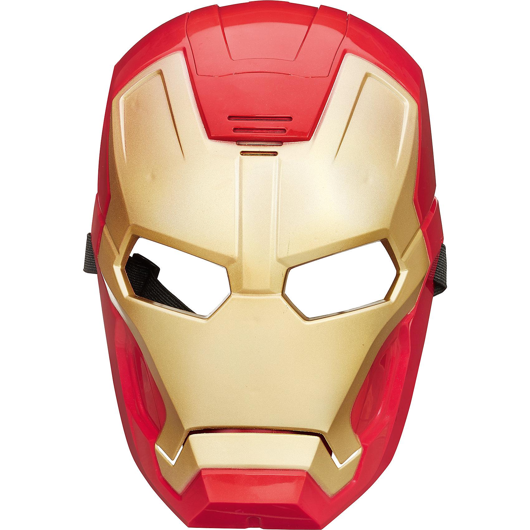 Электронная Маска Мстителей Iron man, B7804/B7806Электронная Маска Мстителей,  в ассортименте - станет приятным сюрпризом для ребенка, поклонника комиксов и фильмов о супергероях Мстители. Электронная Маска оснащена микрофоном, который преобразует голос. Теперь можно не только выглядеть, как герой фильма Мстители, но и говорить, как он - простым нажатием кнопки. Маска крепится с помощью удобных ремешков, которые можно отрегулировать под любой размер. В ассортименте 4 маски любимых героев Марвел – Невероятного Халка, неуязвимого Железного человека, сверхчеловека Капитана Америки и Тора, повелителя грома и молний. Маски выполнены очень реалистично, все детали тщательно проработаны, что, несомненно, оценят даже самые придирчивые фанаты команды Мстителей. Маски отлиты из высокопрочного и высокоэкологичного пластика, область глаз прорезинена, что обеспечивает комфортное ношение изделия.  Дополнительная информация:  - В комплекте: 1 маска - В ассортименте: шлем Тора серебристый, маска Халка зеленая, маска Железного человека красно-желтая, маска Капитан Америка сине-белая - Батарейки: 3 типа AA / LR03 1.5V (входят в комплект) - Материал: высококачественная пластмасса - Размер упаковки: 27 x 22 x 11 см. - Вес: 120 гр. - ВНИМАНИЕ! Данный артикул представлен в разных вариантах исполнения. К сожалению, заранее выбрать определенный вариант невозможно. При заказе нескольких масок возможно получение одинаковых  Электронную Маску Мстителей,  в ассортименте можно купить в нашем интернет-магазине.<br><br>Ширина мм: 114<br>Глубина мм: 203<br>Высота мм: 279<br>Вес г: 800<br>Возраст от месяцев: 60<br>Возраст до месяцев: 192<br>Пол: Мужской<br>Возраст: Детский<br>SKU: 4803339