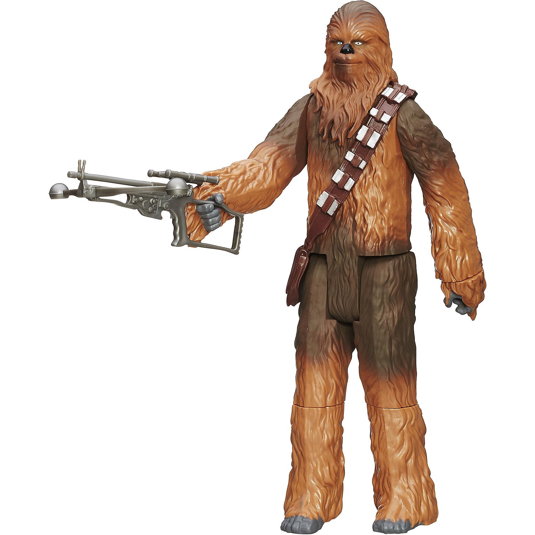 Титаны, с аксессуарами,  Звездные войны, B3914/B3915Титаны, с аксессуарами,  Звездные войны, в ассортименте – это превосходный подарок для поклонника Звёздных войн. Большая фигурка героя из серии Титаны Звездные войны выполнена полностью по образу и подобию своего героя-прототипа. Игрушка достигает в высоту целых 30 сантиметров. В ассортименте представлены два вида фигурок. Первая - фигурка Штурмовика-огнемётчика, одного из новых типов клонов-штурмовиков, которых мы увидим в седьмом эпизоде «Звездных войн». Это специализированные штурмовики, используемые Первым порядком через 30 лет после битвы при Эндоре. Данный тип солдат использует огнемётное оружие и носит традиционную белую броню. Вторая - замечательная фигурка всем нам хорошо знакомого и любимого вуки Чубакки, верного друга и помощника капитана Хана Соло. Они готовы к бою, благодаря доспехам и оружию.  Дополнительная информация:  - В наборе: фигурка персонажа, доспехи, оружие - В ассортименте 2 фигурки: Штурмовик и Чубакка - Высота фигурки: 30 см. - Материал: пластмасса - Размер упаковки: 30 x 16 x 6 см. - Вес: 320 гр. - ВНИМАНИЕ! Данный артикул представлен в разных вариантах исполнения. К сожалению, заранее выбрать определенный вариант невозможно. При заказе нескольких наборов возможно получение одинаковых  Набор Титаны, с аксессуарами,  Звездные войны (Star Wars), в ассортименте можно купить в нашем интернет-магазине.<br><br>Ширина мм: 310<br>Глубина мм: 172<br>Высота мм: 68<br>Вес г: 440<br>Возраст от месяцев: 48<br>Возраст до месяцев: 96<br>Пол: Мужской<br>Возраст: Детский<br>SKU: 4803341