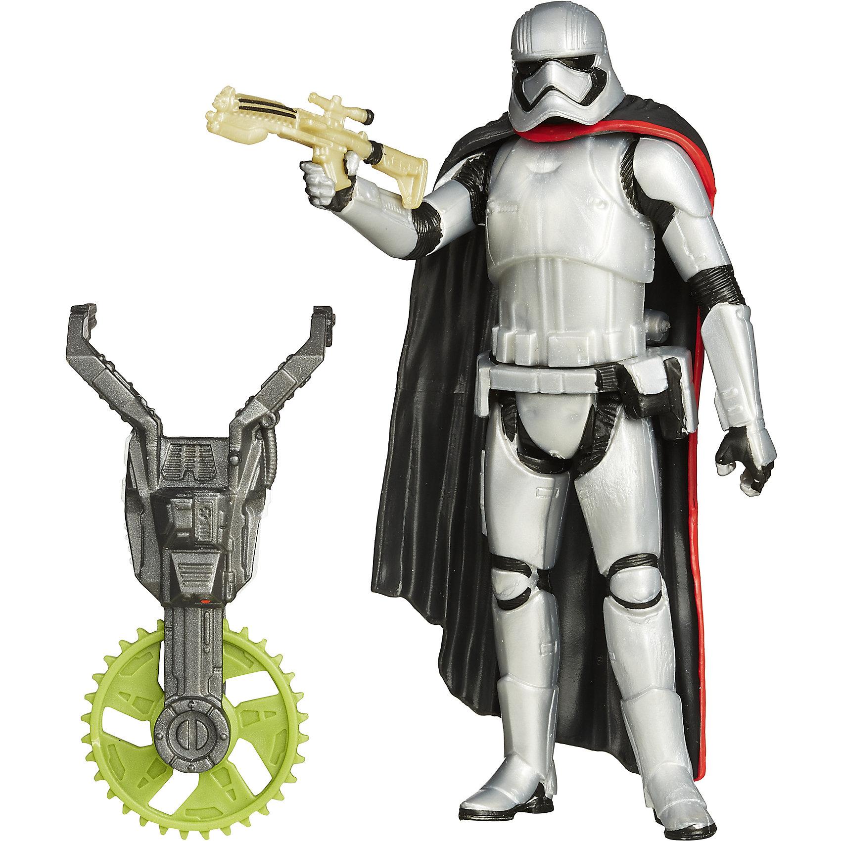Фигурка вселенной Звездные Войны (Джунгли/ Космос), Капитан ФазмаИгрушки<br>Фигурка станет прекрасным подарком всем поклонникам всемирно известной саги Star Wars. Игрушка прекрасно детализирована, имеет подвижные конечности. В комплекте красный световой меч. Также в наборе есть составная часть орудия. Собери три фигурки и стань обладателем уникального орудия.   <br><br>Дополнительная информация: <br><br>- Материал: пластик.<br>- Размер фигурки: 10 см. <br><br>Фигурку вселенной Звездные Войны (Джунгли/ Космос), Капитан Фазма можно купить в нашем магазине.<br><br>Ширина мм: 38<br>Глубина мм: 140<br>Высота мм: 210<br>Вес г: 40<br>Возраст от месяцев: 48<br>Возраст до месяцев: 96<br>Пол: Мужской<br>Возраст: Детский<br>SKU: 4803353