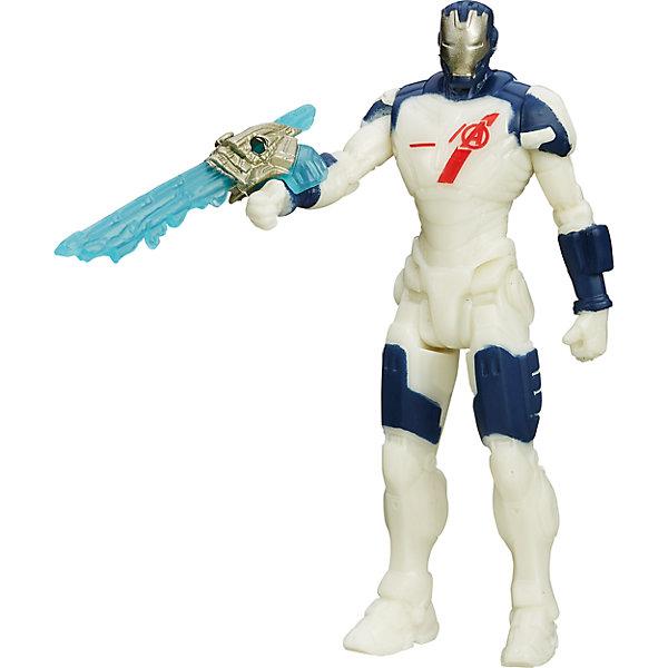 Фигурки Мстителей, 9,5 см., B0437/B2468Игрушки<br>Фигурки Мстителей, 9,5 см., в ассортименте – эта фигурка приведет в восторг любого мальчишку! Фигурка «Мстители», выполненная из высококачественной пластмассы, представляет собой копию известного супергероя из мира Marvel. Фигурка имеет подвижную голову, ноги и руки, а также точную детальную проработку, которая просто поражает. Ваш малыш может выбрать любую из фигур четырех титанов. Капитан Америка – патриотический герой со щитом, окрашенным в цвета флага США. Неуязвимый железный человек в металлических доспехах с оружием. Невероятный зеленый Халк-гигант, имеющий супер способности и невероятную силу. И последняя мифическая фигурка – это скандинавский Тор, вооруженный молотом.  Дополнительная информация:  - В наборе: 1 фигурка - В ассортименте 4 фигурки: Капитан Америка, Железный Человек, Халк, Тор - Высота фигурки: 9,5 см. - Материал: пластмасса - Размер упаковки: 4 x 18 x 13 см. - ВНИМАНИЕ! Данный артикул представлен в разных вариантах исполнения. К сожалению, заранее выбрать определенный вариант невозможно. При заказе нескольких наборов возможно получение одинаковых  Фигурки Мстителей (Avengers) 9,5 см., в ассортименте можно купить в нашем интернет-магазине.<br>Ширина мм: 182; Глубина мм: 119; Высота мм: 40; Вес г: 82; Возраст от месяцев: 48; Возраст до месяцев: 96; Пол: Мужской; Возраст: Детский; SKU: 4803365;