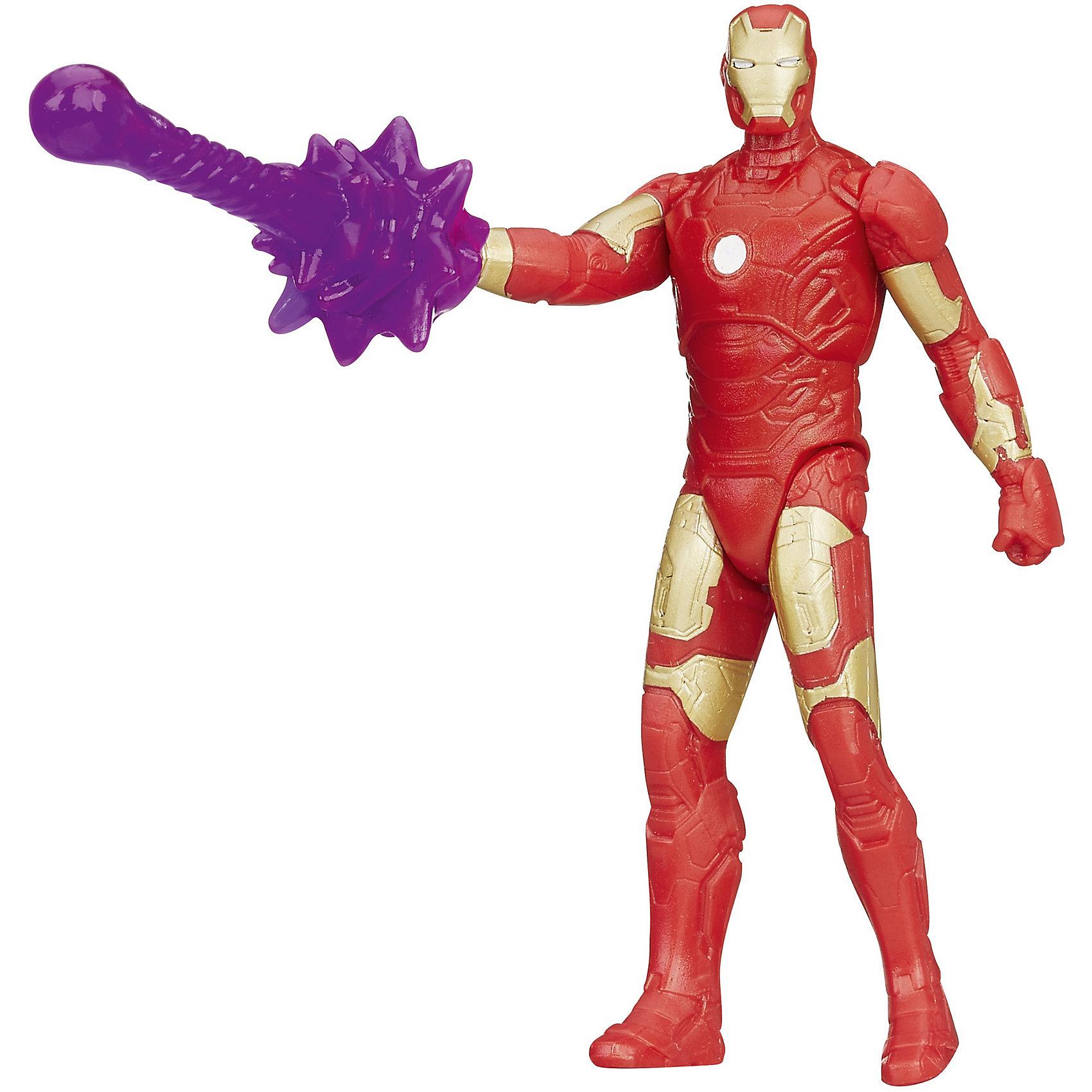 Фигурки Мстителей, 9,5 см., B0437/B0976Игрушки<br>Фигурки Мстителей, 9,5 см., в ассортименте – эта фигурка приведет в восторг любого мальчишку! Фигурка «Мстители», выполненная из высококачественной пластмассы, представляет собой копию известного супергероя из мира Marvel. Фигурка имеет подвижную голову, ноги и руки, а также точную детальную проработку, которая просто поражает. Ваш малыш может выбрать любую из фигур четырех титанов. Капитан Америка – патриотический герой со щитом, окрашенным в цвета флага США. Неуязвимый железный человек в металлических доспехах с оружием. Невероятный зеленый Халк-гигант, имеющий супер способности и невероятную силу. И последняя мифическая фигурка – это скандинавский Тор, вооруженный молотом.  Дополнительная информация:  - В наборе: 1 фигурка - В ассортименте 4 фигурки: Капитан Америка, Железный Человек, Халк, Тор - Высота фигурки: 9,5 см. - Материал: пластмасса - Размер упаковки: 4 x 18 x 13 см. - ВНИМАНИЕ! Данный артикул представлен в разных вариантах исполнения. К сожалению, заранее выбрать определенный вариант невозможно. При заказе нескольких наборов возможно получение одинаковых  Фигурки Мстителей (Avengers) 9,5 см., в ассортименте можно купить в нашем интернет-магазине.<br><br>Ширина мм: 182<br>Глубина мм: 119<br>Высота мм: 40<br>Вес г: 82<br>Возраст от месяцев: 48<br>Возраст до месяцев: 96<br>Пол: Мужской<br>Возраст: Детский<br>SKU: 4803367