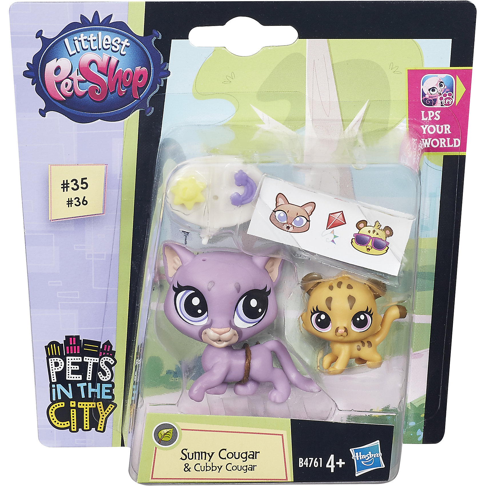�������� � �� �����, Littlest Pet Shop, �7313/B4761 (Hasbro)
