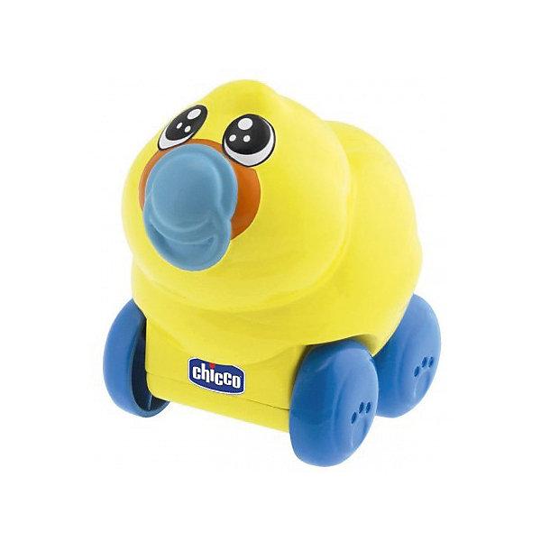 Музыкальная игрушка Утка на колесах: Ферма, Go Go Music, ChiccoИнтерактивные игрушки для малышей<br>Характеристики музыкальной игрушки Go Go Music:<br><br>• звуковые эффекты: музыкальное сопровождение;<br>• тип управления: сенсорное;<br>• блокировка колес;<br>• стимуляция движений крохи: ползти за игрушкой, которая движется вперед;<br>• батарейки включены в комплект: 3 шт. LR44<br>• размер упаковки: 33х29х11,5 см.<br><br>Пластиковая утка на колесиках из серии «Ферма» имеет сенсорные датчики, после разблокировки колес движется вперед. Движение утки сопровождается приятной мелодией. <br><br>Музыкальную игрушку Утка на колесах: Ферма, Go Go Music, Chicco можно купить в нашем интернет-магазине.<br>Ширина мм: 295; Глубина мм: 330; Высота мм: 108; Вес г: 450; Возраст от месяцев: 6; Возраст до месяцев: 24; Пол: Унисекс; Возраст: Детский; SKU: 4803947;