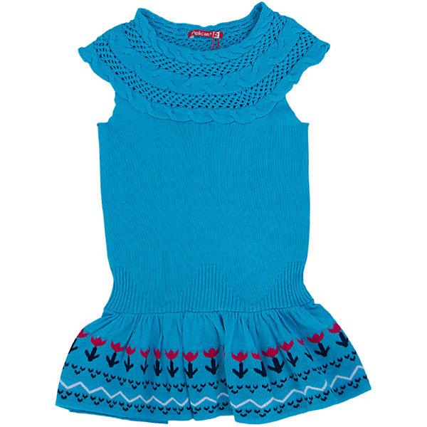 Платье для девочки PELICANПлатья и сарафаны<br>Модное вязаное платье для девочки смотрится очень нарядно. Оно поможет разнообразить гардероб ребенка, создать подходящий погоде ансамбль. Удобный крой и качественный материал обеспечат ребенку комфорт при ношении этих вещей. <br>Платье декорировано вывязанным узором из косичек, низ - украшен воланами и орнаментом. Рукава короткие. Вязка очень качественная, гладкая. Материал платья состоит из дышащего натурального хлопка. <br><br>Дополнительная информация:<br><br>материал: 100% хлопок;<br>цвет: голубой;<br>декорировано узором и воланами.<br><br>Платье для девочки от бренда PELICAN (Пеликан) можно купить в нашем магазине.<br><br>Ширина мм: 236<br>Глубина мм: 16<br>Высота мм: 184<br>Вес г: 177<br>Цвет: голубой<br>Возраст от месяцев: 48<br>Возраст до месяцев: 60<br>Пол: Женский<br>Возраст: Детский<br>Размер: 110,92,98,104<br>SKU: 4804984