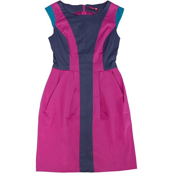 Платье для девочки PELICANПлатья и сарафаны<br>Блестящее модное платье для девочки смотрится оригинально и нарядно. Оно поможет разнообразить гардероб ребенка, создать подходящий погоде ансамбль. Удобный крой и качественный материал обеспечат ребенку комфорт при ношении этого изделия. <br>Платье декорировано цветными вставками из такой же ткани с атласным блеском. Рукава короткие. На спине - молния. Материал платья частично состоит из дышащего натурального хлопка, гипоаллергенного, отлично подходящего для детской одежды. <br><br>Дополнительная информация:<br><br>материал: 55% полиэстер, 42% хлопок, 3% эластан;<br>цвет: розовый;<br>молния на спине;<br>декорировано контрастными вставками.<br><br>Платье для девочки от бренда PELICAN (Пеликан) можно купить в нашем магазине.<br><br>Ширина мм: 236<br>Глубина мм: 16<br>Высота мм: 184<br>Вес г: 177<br>Цвет: розовый<br>Возраст от месяцев: 156<br>Возраст до месяцев: 168<br>Пол: Женский<br>Возраст: Детский<br>Размер: 164,152,158<br>SKU: 4805194