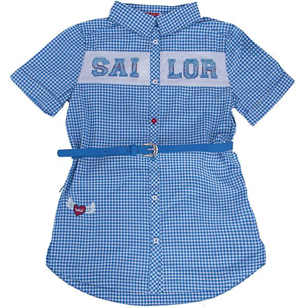 Блузка для девочки PELICANБлузки и рубашки<br>Модная удобная блузка для девочки поможет разнообразить гардероб ребенка, создать легкий подходящий погоде ансамбль. Удобный крой и качественный материал обеспечат ребенку комфорт при ношении этого изделия. <br>Блузка очень симпатично смотрится благодаря актуальному дизайну и удлиненному силуэту. Изделие украшено вставкой с принтом и стразами. Рукава - короткие. Материал - легкий, отлично подходит для лета, состоит из дышащего натурального хлопка. Очень приятен на ощупь, не вызывает аллергии. В комплекте  - стильный ремешок из искусственной кожи.<br><br>Дополнительная информация:<br><br>материал: 100% хлопок;<br>цвет: в клетку;<br>принт и стразы;<br>ремешок из искусственной кожи;<br>рукава короткие.<br><br>Блузку для девочки от бренда PELICAN (Пеликан) можно купить в нашем магазине.<br><br>Ширина мм: 186<br>Глубина мм: 87<br>Высота мм: 198<br>Вес г: 197<br>Цвет: синий<br>Возраст от месяцев: 84<br>Возраст до месяцев: 96<br>Пол: Женский<br>Возраст: Детский<br>Размер: 128,134,122,146,140<br>SKU: 4805209