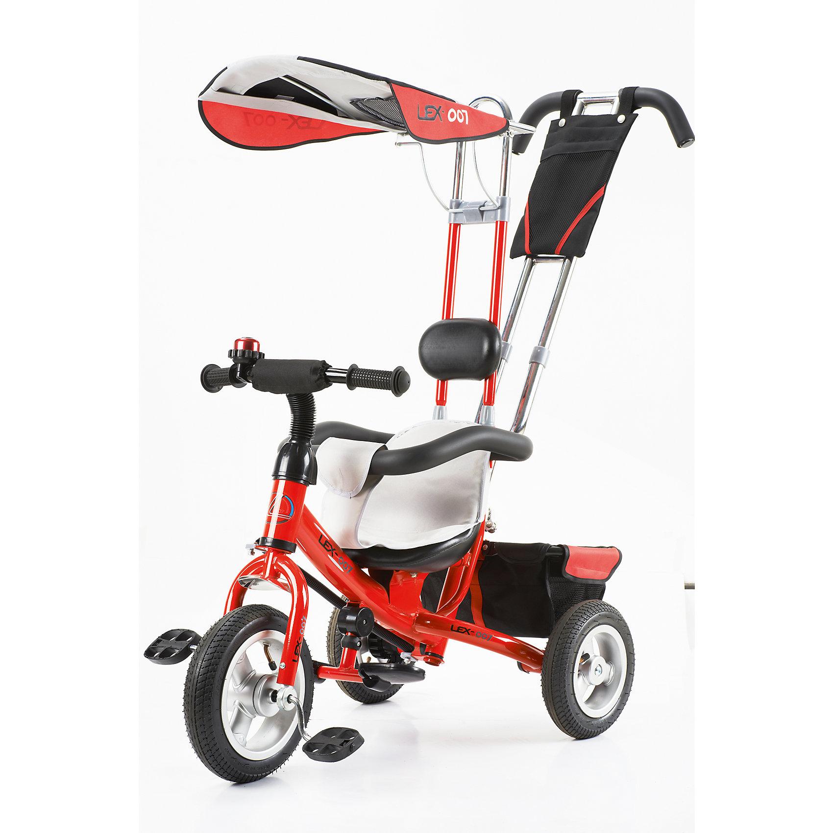 Трехколесный велосипед, VipLex, красный<br><br>Ширина мм: 550<br>Глубина мм: 400<br>Высота мм: 300<br>Вес г: 9000<br>Возраст от месяцев: 12<br>Возраст до месяцев: 48<br>Пол: Унисекс<br>Возраст: Детский<br>SKU: 4806682