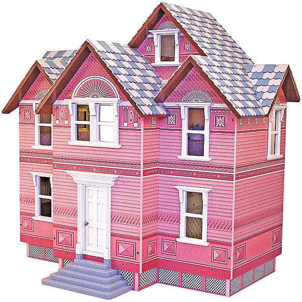Викторианский дом для кукол, Melissa&amp;DougДомики для кукол<br>Великолепный Кукольный домик выполнен в Викторианском стиле, что позволит перенестись в сказочный мир принцесс того времени. В деревянном домике есть целых 5 комнат, и три этажа. Каждая комната оформлена в своем стиле. Домик сделан из натурального дерева покрыт нетоксичной и безопасной краской. Кукольный домик станет прекрасной игрушкой для девочки.<br><br>Ширина мм: 460<br>Глубина мм: 300<br>Высота мм: 710<br>Вес г: 19505<br>Возраст от месяцев: 60<br>Возраст до месяцев: 192<br>Пол: Женский<br>Возраст: Детский<br>SKU: 4807389