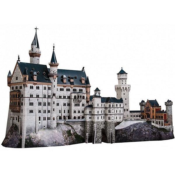 Сборная модель Замок NeuschwansteinМодели из бумаги<br>Замок Neuschwanstein - cборная модель из картона. Серия: Масштабные модели. Количество деталей, шт: 359. Размер в собранном виде, см: 64 х 36 х 24. Размер упаковки, мм.:  высота 368 ширина 252 глубина 23. Тип упаковки: Картонная коробка. Вес, гр.: 556. Возраст: от 12 лет. Все модели и игрушки, созданные по технологии УМНАЯ БУМАГА собираются без ножниц и клея, что является их неповторимой особенностью.<br>Принцип соединения деталей запатентован. Соединения деталей продуманы и просчитаны с такой точностью, что при правильной сборке с моделью можно играть, как с обычной игрушкой.<br>Ширина мм: 252; Глубина мм: 23; Высота мм: 368; Вес г: 556; Возраст от месяцев: 144; Возраст до месяцев: 2147483647; Пол: Унисекс; Возраст: Детский; SKU: 4807398;