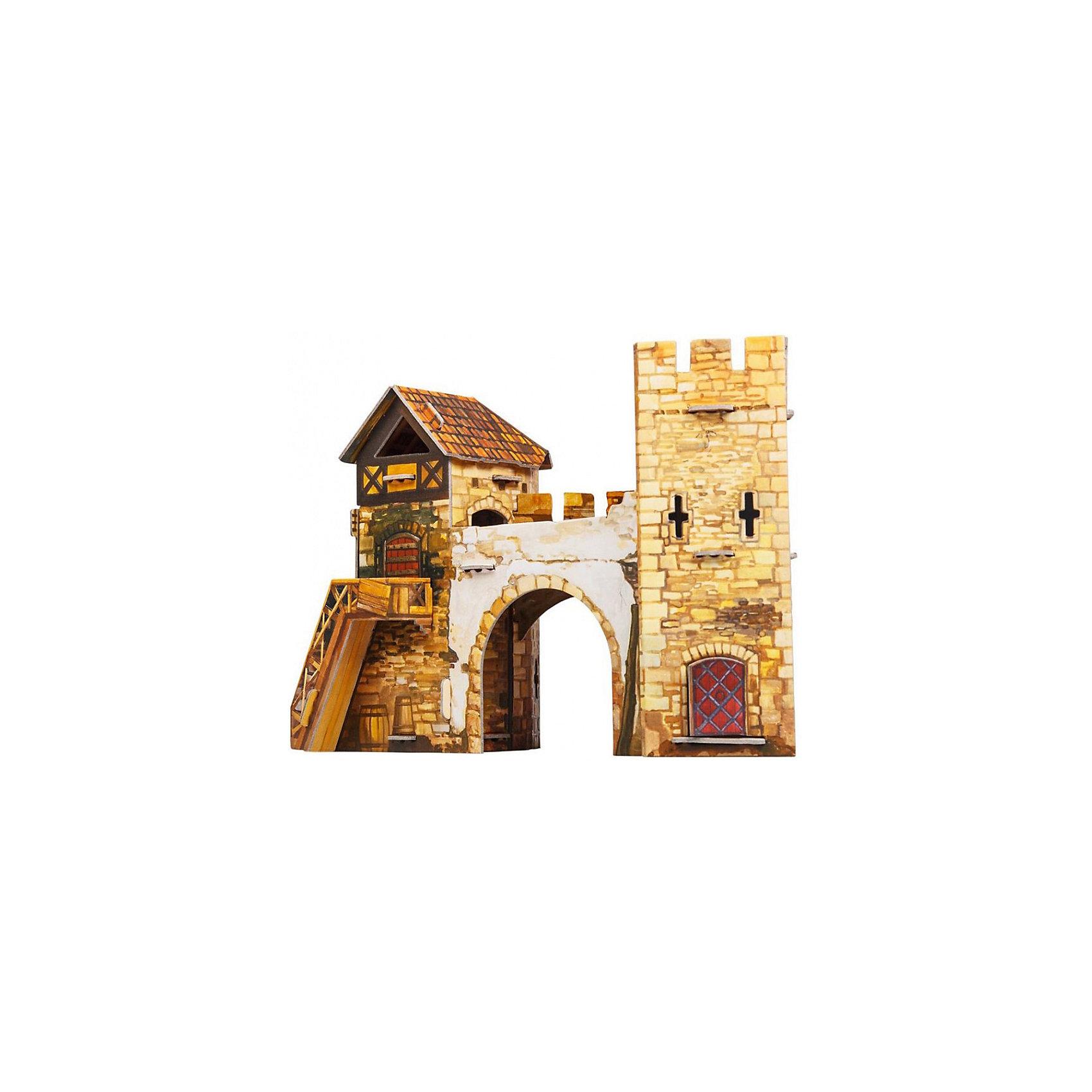 Умная Бумага Сборная модель Старые ворота умная бумага сборная модель ворота алькала