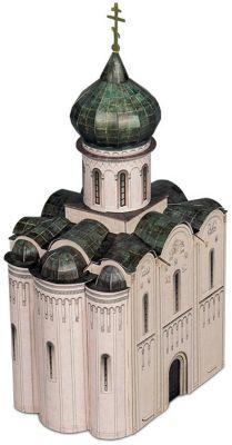 Умная Бумага Сборная Модель Церковь Покрова На Нерли Xii Век