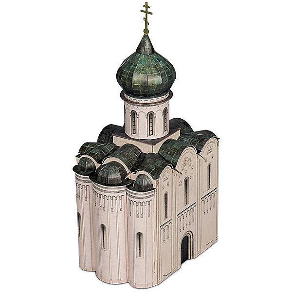Сборная модель Церковь Покрова на Нерли  XII векМодели из бумаги<br>Покрова на Нерли - Сборная модель из картона. Серия: Масштабные модели.  Количество деталей, шт: 52. Размер в собранном виде, см: 15,5 х 27,5 х 12. Размер упаковки, мм.:  высота 368 ширина 252 глубина 23. Тип упаковки: Картонная коробка. Вес, гр.: 260. Возраст: от 9 лет. Все модели и игрушки, созданные по технологии УМНАЯ БУМАГА собираются без ножниц и клея, что является их неповторимой особенностью.<br>Принцип соединения деталей запатентован. Соединения деталей продуманы и просчитаны с такой точностью, что при правильной сборке с моделью можно играть, как с обычной игрушкой.<br>Ширина мм: 252; Глубина мм: 23; Высота мм: 368; Вес г: 260; Возраст от месяцев: 108; Возраст до месяцев: 2147483647; Пол: Унисекс; Возраст: Детский; SKU: 4807456;