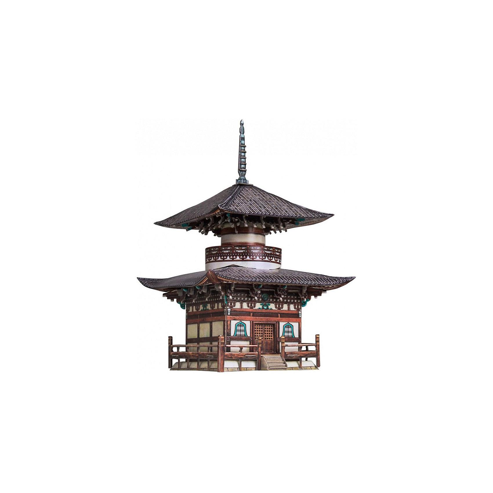 Умная Бумага Сборная модель Пагода Хонпо-дзи