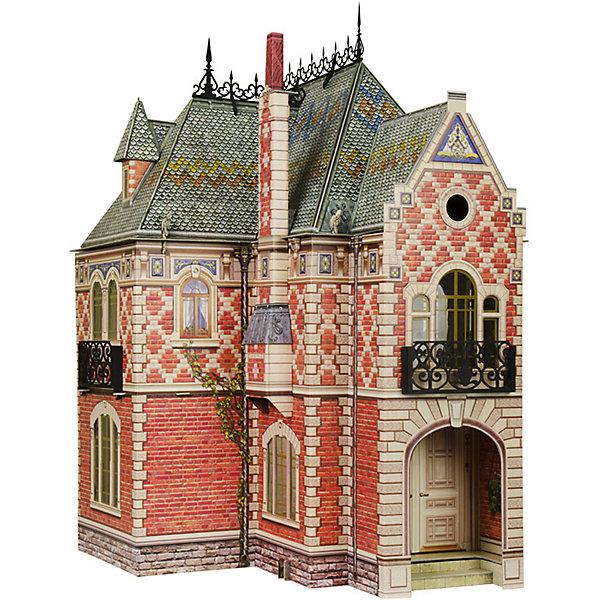 Сборная модель Кукольный ДомБумажные модели<br>Кукольный Дом - Сюжетный игровой набор из плотного картона. Серия: Кукольный дом и мебель. Количество деталей, шт: 74. Размер в собранном виде, см: 42,5 x 40,5 x 60 . Размер упаковки, мм.:  высота 493 ширина 350 глубина 37. Тип упаковки: Картонная коробка. Вес, гр.: 2620. Возраст: от 7 лет. Все модели и игрушки, созданные по технологии УМНАЯ БУМАГА собираются без ножниц и клея, что является их неповторимой особенностью.<br>Принцип соединения деталей запатентован. Соединения деталей продуманы и просчитаны с такой точностью, что при правильной сборке с моделью можно играть, как с обычной игрушкой.<br><br>Ширина мм: 350<br>Глубина мм: 37<br>Высота мм: 493<br>Вес г: 2620<br>Возраст от месяцев: 84<br>Возраст до месяцев: 2147483647<br>Пол: Унисекс<br>Возраст: Детский<br>SKU: 4807478