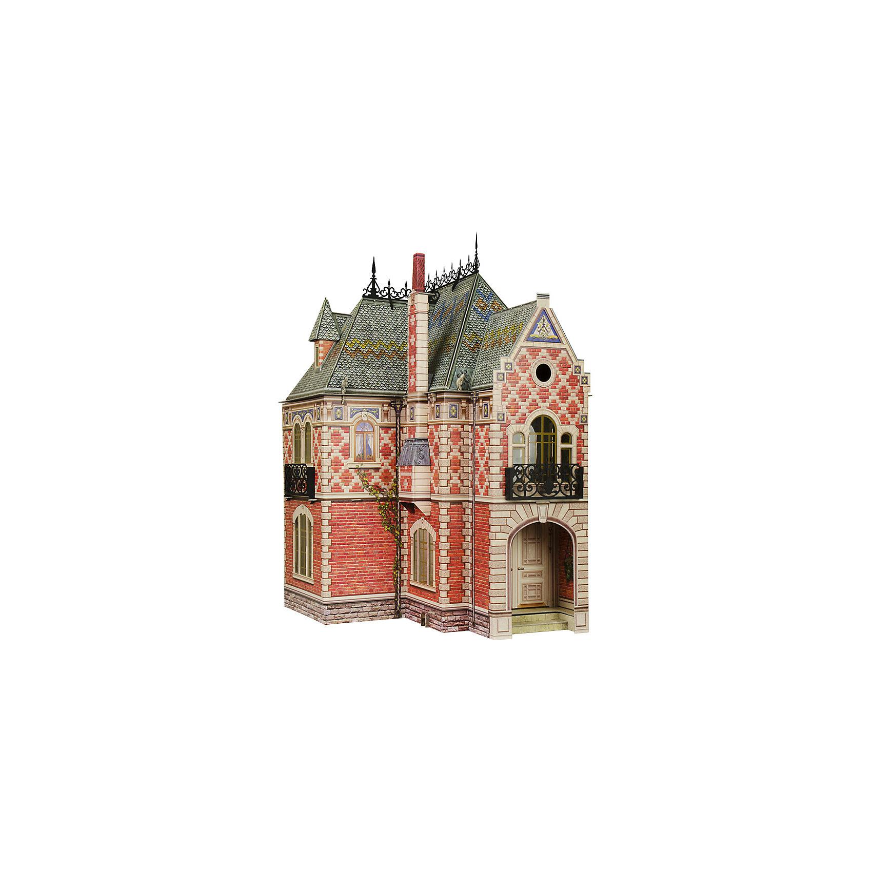 Сборная модель Кукольный ДомКартонные модели<br>Кукольный Дом - Сюжетный игровой набор из плотного картона. Серия: Кукольный дом и мебель. Количество деталей, шт: 74. Размер в собранном виде, см: 42,5 x 40,5 x 60 . Размер упаковки, мм.:  высота 493 ширина 350 глубина 37. Тип упаковки: Картонная коробка. Вес, гр.: 2620. Возраст: от 7 лет. Все модели и игрушки, созданные по технологии УМНАЯ БУМАГА собираются без ножниц и клея, что является их неповторимой особенностью.<br>Принцип соединения деталей запатентован. Соединения деталей продуманы и просчитаны с такой точностью, что при правильной сборке с моделью можно играть, как с обычной игрушкой.<br><br>Ширина мм: 350<br>Глубина мм: 37<br>Высота мм: 493<br>Вес г: 2620<br>Возраст от месяцев: 84<br>Возраст до месяцев: 2147483647<br>Пол: Унисекс<br>Возраст: Детский<br>SKU: 4807478