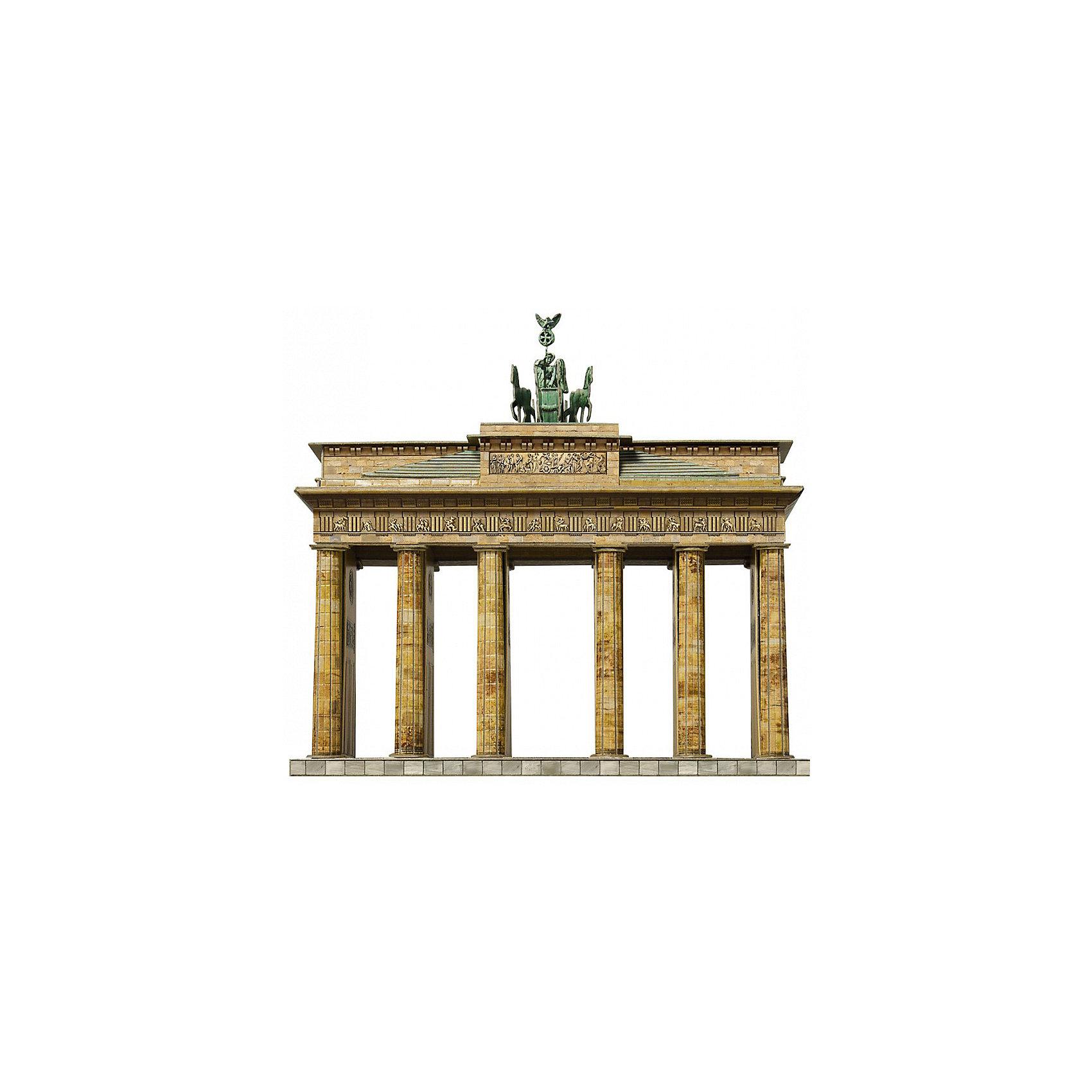 Сборная модель Брандербургские ВоротаБранденбургские Ворота - Сборная модель из картона. Серия: Масштабные модели. Количество деталей, шт: 76. Размер в собранном виде, см: 19 x 7,5 x 15,5. Размер упаковки, мм.:  высота 310 ширина 220 глубина 22. Тип упаковки: Картонная коробка. Вес, гр.: 262. Возраст: от 9 лет. Все модели и игрушки, созданные по технологии УМНАЯ БУМАГА собираются без ножниц и клея, что является их неповторимой особенностью.<br>Принцип соединения деталей запатентован. Соединения деталей продуманы и просчитаны с такой точностью, что при правильной сборке с моделью можно играть, как с обычной игрушкой.<br><br>Ширина мм: 220<br>Глубина мм: 22<br>Высота мм: 310<br>Вес г: 262<br>Возраст от месяцев: 84<br>Возраст до месяцев: 2147483647<br>Пол: Унисекс<br>Возраст: Детский<br>SKU: 4807488