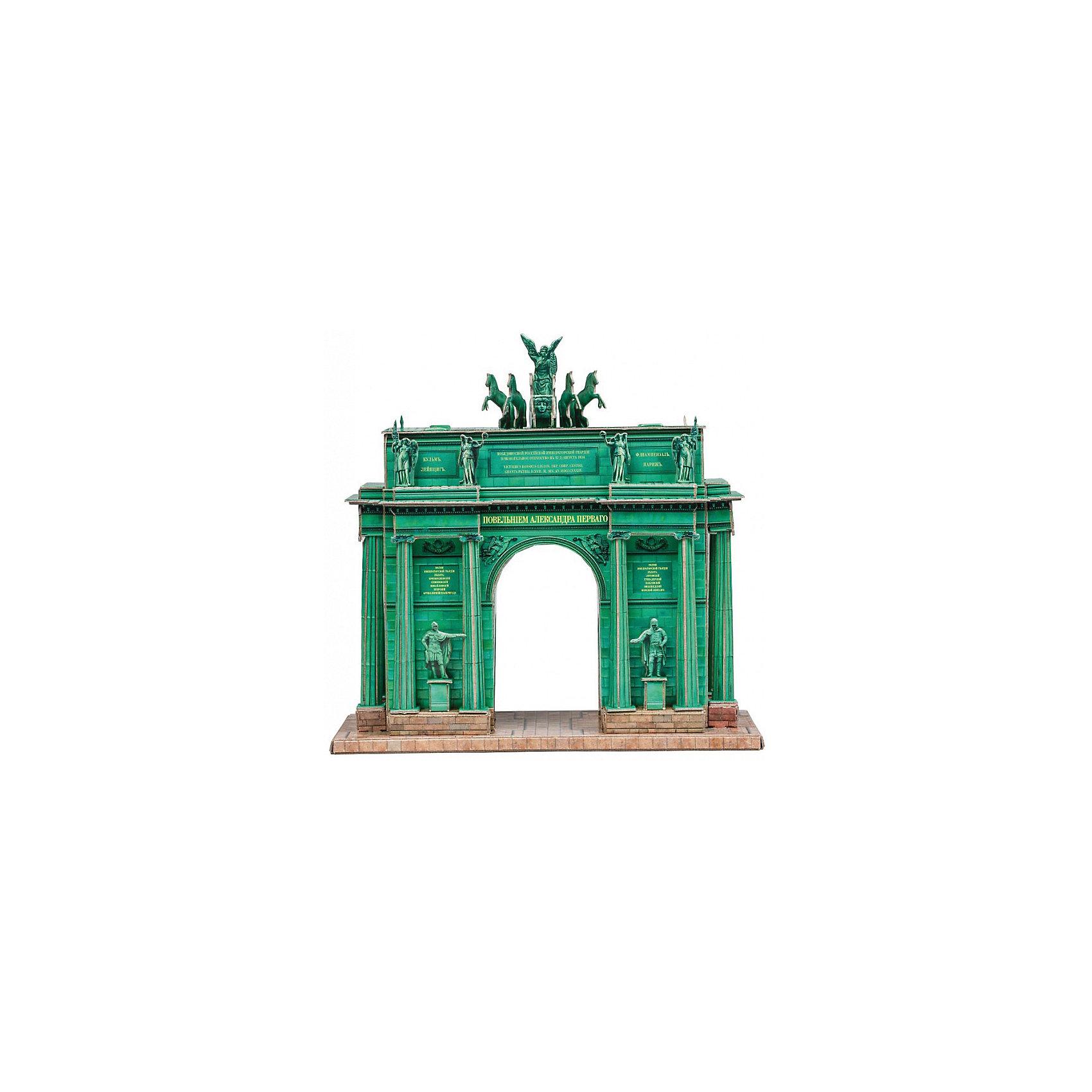 Умная Бумага Сборная модель Нарвские Ворота