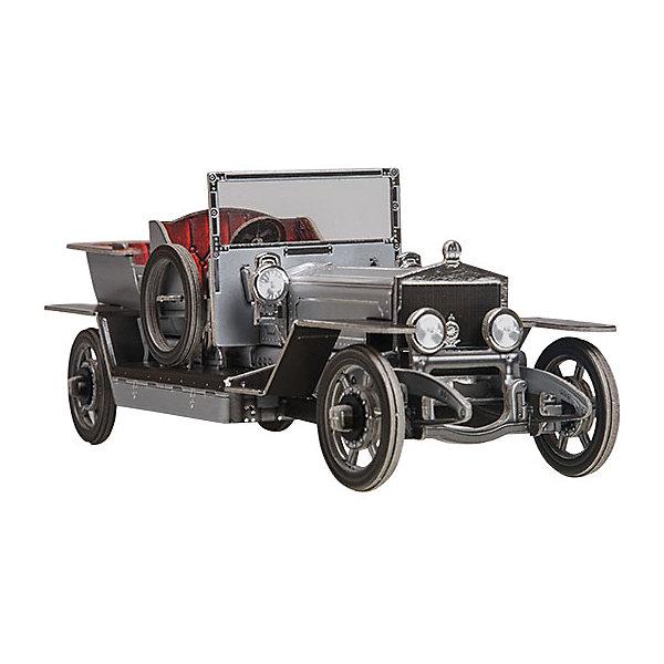 Сборная модель Ретро автомобильМодели из бумаги<br>Сборная игрушка из плотного картона «Ретро автомобиль».<br>Оригинальный и полезный подарок для ребенка и взрослого, для семейного творчества. Все соединения разработаны и рассчитаны с такой точностью, что с правильно собранной игрушкой можно играть, как с обычной, готовой. Сборные игрушки, в отличие от готовых, учат ребенка добиваться всего своим трудом, уже в детстве занимая активную жизненную позицию, учат уважать чужой труд на примере своего, вырабатывают умелость рук и сообразительность. Собранная своими руками игрушка будет для ребенка гораздо дороже, чем готовая, ведь он вложил в нее свой драгоценный труд.<br>Способствует развитию мелкой моторики рук, пространственного воображения, внимательности и аккуратности.<br><br>Особенности:<br>- толщина картона - 1,5 мм.;<br>- объемное тиснение;<br>- колеса автомобиля вращаются;<br>- капот открывается;<br>- собирается без клея и ножниц.<br>Ширина мм: 180; Глубина мм: 2; Высота мм: 260; Вес г: 62; Возраст от месяцев: 84; Возраст до месяцев: 2147483647; Пол: Унисекс; Возраст: Детский; SKU: 4807507;