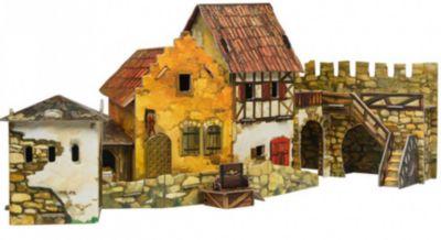 Умная Бумага Сборная модель Городская площадь: Рынок