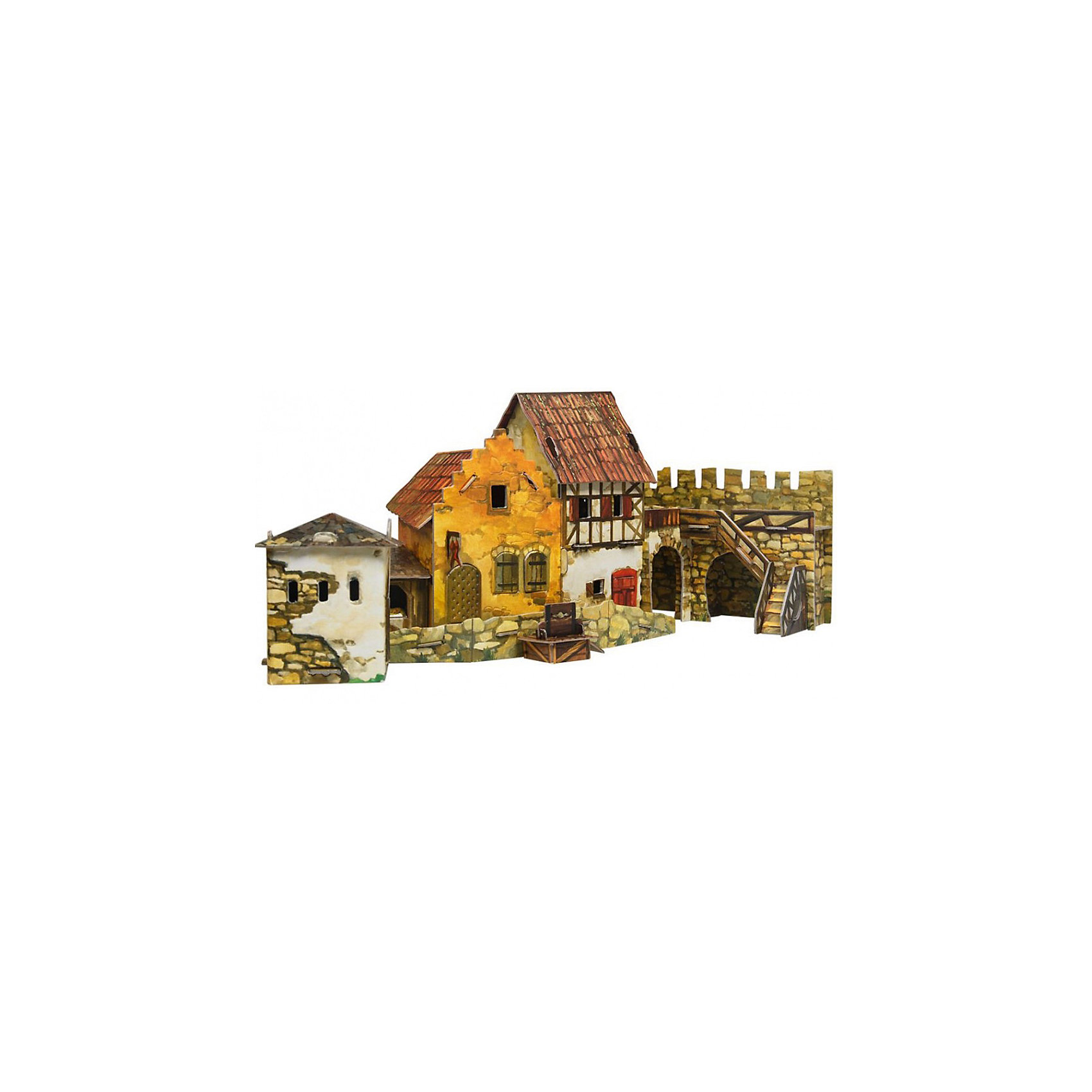 Сборная модель Городская площадь: РынокБумажные модели<br>Городская площадь. Рынок - Сюжетный игровой набор из плотного картона. Серия: Средневековый город. Количество деталей, шт: . Размер в собранном виде, см: . Размер упаковки, мм.:  высота 368 ширина 252 глубина 23. Тип упаковки: Картонная коробка. Вес, гр.: 448. Возраст: от 7 лет. Все модели и игрушки, созданные по технологии УМНАЯ БУМАГА собираются без ножниц и клея, что является их неповторимой особенностью.<br>Принцип соединения деталей запатентован. Соединения деталей продуманы и просчитаны с такой точностью, что при правильной сборке с моделью можно играть, как с обычной игрушкой.<br><br>Ширина мм: 252<br>Глубина мм: 23<br>Высота мм: 368<br>Вес г: 448<br>Возраст от месяцев: 84<br>Возраст до месяцев: 2147483647<br>Пол: Унисекс<br>Возраст: Детский<br>SKU: 4807510