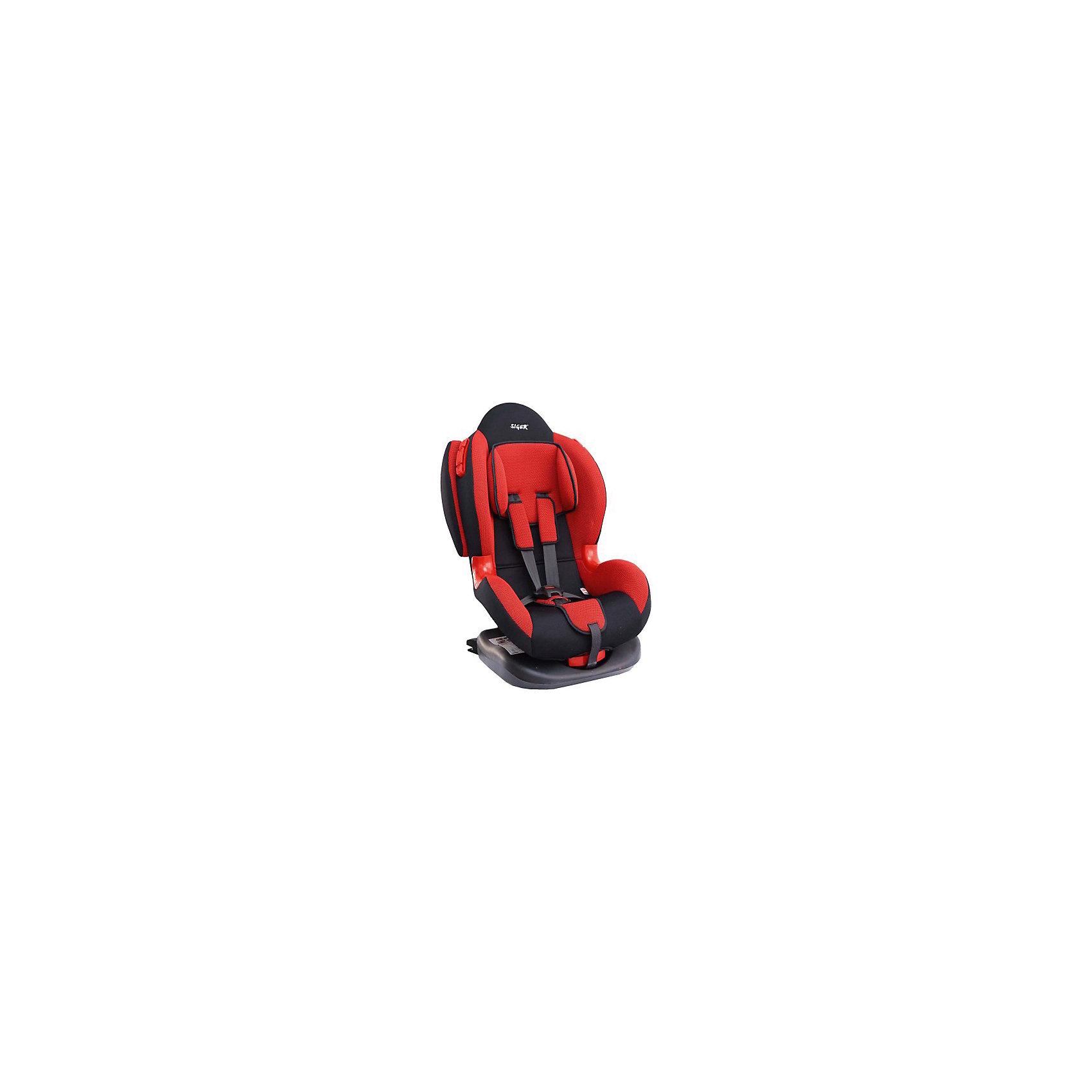 Автокресло Кокон isofix 9-25 кг., Siger, красный