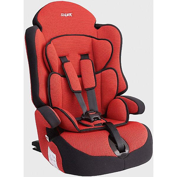 Автокресло Siger Прайм isofix 9-36 кг, красныйГруппа 1-2-3  (от 9 до 36 кг)<br>Детское кресло SIGER Прайм-Isofix изготовлено по новейшим технологиям, обеспечивающим максимальную безопасность ребенку во время поездки. В модели предусмотрен 5-титочечный ремень, который защитит ребенка при резком торможении автомобиля. Чехлы кресла выполнены из износостойкой ткани, которая не выгорает на солнце и легко отстирывается при щадящей стирке.<br><br>Дополнительная информация:<br><br>- Материал: текстиль, пластик, металл.<br>- Размер: 45x44x67 см<br>- Возраст: от 12 месяцев до 12 лет<br>- Группа: 1/2/3 (9-36 кг)<br>- Вес кресла: 5.4 кг<br>- Внутренние 5-точечные ремни безопасности<br>- Вид крепления: система IZOFIX<br><br>Автокресло Прайм isofix 9-36 кг., Siger, красный можно купить в нашем интернет-магазине.<br><br>Ширина мм: 440<br>Глубина мм: 450<br>Высота мм: 670<br>Вес г: 6100<br>Возраст от месяцев: 12<br>Возраст до месяцев: 144<br>Пол: Унисекс<br>Возраст: Детский<br>SKU: 4809113