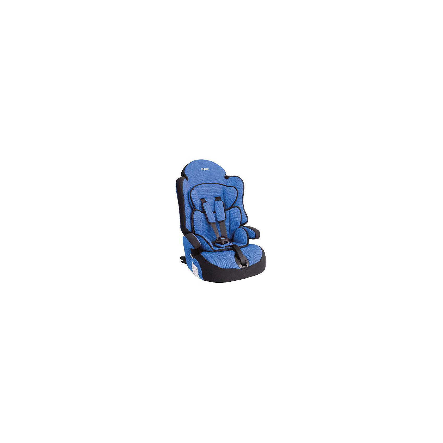 Автокресло Прайм isofix 9-36 кг., Siger, синий