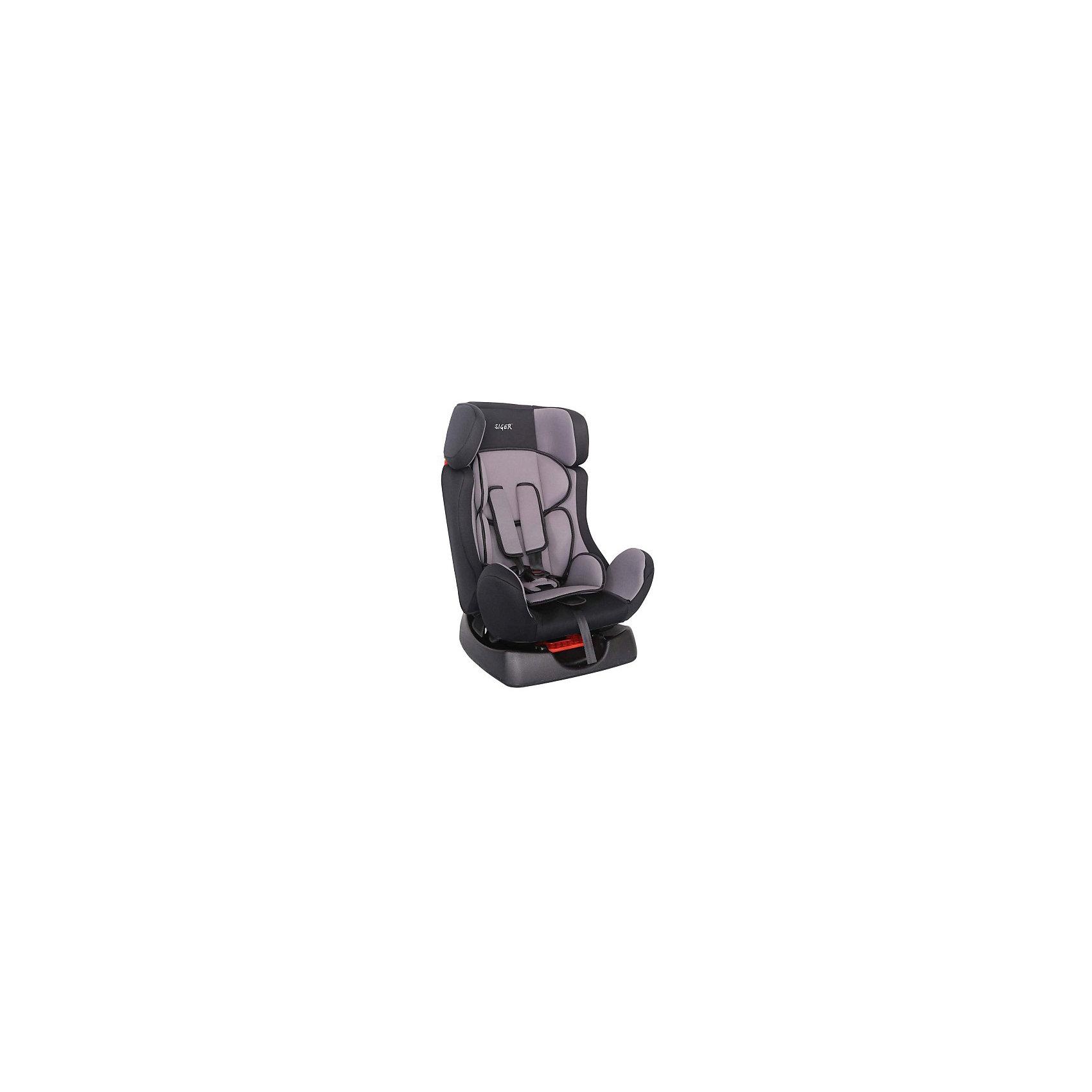 Автокресло Диона, 0-25 кг., Siger, серыйОсобенностью кресла Siger Диона является его универсальность, его можно использовать с момента рождения ребенка до того, как он пойдет в школу. Автокресло имеет надежную боковую защиту и прочные пятиточечные ремни, которые обеспечивают безопасность ребенка во время движения. Кресло имеет съёмный чехол, который легко переносит ручную или машинную стирку.<br><br>Дополнительная информация:<br><br>- Материал: текстиль, пластик, металл.<br>- Размер: 63x45x45 см<br>- Возраст: от 0 месяцев до 7 лет<br>- Группа: 1/2 (9-25 кг)<br>- Вес кресла: 5.7 кг<br>- Внутренние 5-точечные ремни безопасности<br>- 3 положения регулировки наклона кресла<br><br>Автокресло Диона, 0-25 кг., Siger, серый можно купить в нашем интернет-магазине.<br><br>Ширина мм: 450<br>Глубина мм: 450<br>Высота мм: 630<br>Вес г: 5700<br>Возраст от месяцев: 0<br>Возраст до месяцев: 84<br>Пол: Унисекс<br>Возраст: Детский<br>SKU: 4809123