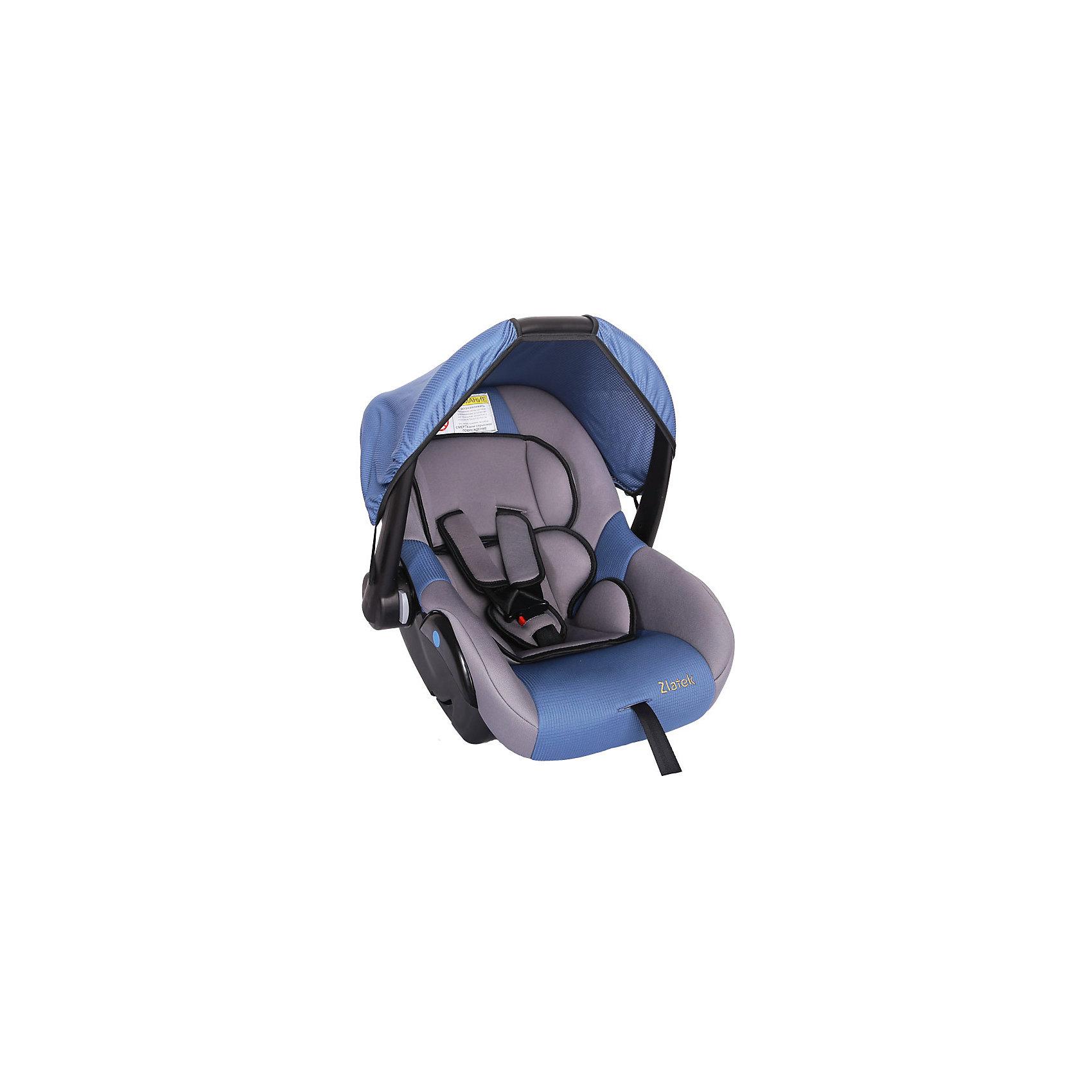 Автокресло Zlatek Colibri 0-13 кг, синийГруппа 0+ (До 13 кг)<br>Модель Colibri Zlatek – это надежное и практичное автокресло для перевозки детей от рождения до полутора лет. Автокресло оснащено 3-точечными ремнями безопасности с мягкими накладками, которые можно регулировать по мере роста ребенка. Благодаря удобной конструкции кресло удобно переносить, а также использовать как кресло-качалку и колыбель.<br><br>Дополнительная информация:<br><br>- Материал: текстиль, пластик, металл.<br>- Размер: 60x37x36 см<br>- Возраст: от 0 до 18 месяцев<br>- Группа: 0+ (до 13 кг)<br>- Вес кресла: 3.7 кг<br>- Внутренние 3-точечные ремни безопасности<br><br>Автокресло Colibri 0-13 кг., Zlatek, синий можно купить в нашем интернет-магазине.<br><br>Ширина мм: 600<br>Глубина мм: 360<br>Высота мм: 370<br>Вес г: 3700<br>Возраст от месяцев: 0<br>Возраст до месяцев: 18<br>Пол: Унисекс<br>Возраст: Детский<br>SKU: 4809129
