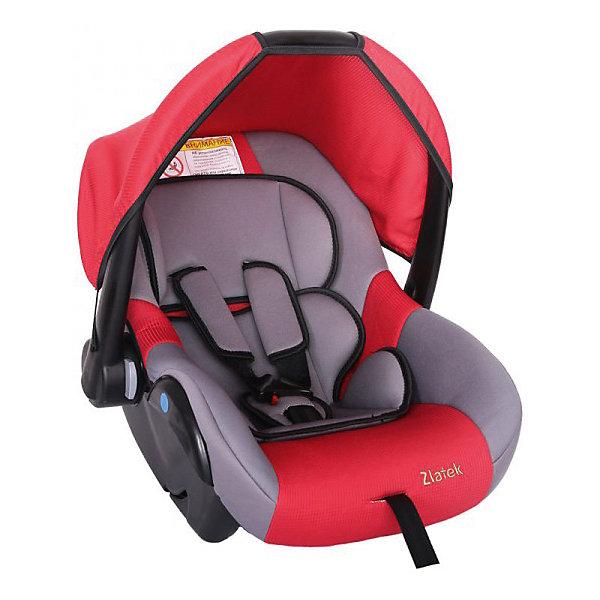 Автокресло Zlatek Colibri 0-13 кг, красныйГруппа 0+  (до 13 кг)<br>Модель кресла Colibri Zlatek предназначена для самой маленькой возрастной группы пассажиров с рождения до полутора лет. Кресло устанавливается в автомобиль против направления движения. Автокресло оснащено удобной ручкой для переноса, и съёмным чехлом, который убережет ребенка от прямых солнечных лучей.<br><br>Дополнительная информация:<br><br>- Материал: текстиль, пластик, металл.<br>- Размер: 60x37x36 см<br>- Возраст: от 0 до 18 месяцев<br>- Группа: 0+ (до 13 кг)<br>- Вес кресла: 3.7 кг<br>- Внутренние 3-точечные ремни безопасности<br><br>Автокресло Colibri 0-13 кг., Zlatek, красный можно купить в нашем интернет-магазине.<br>Ширина мм: 600; Глубина мм: 360; Высота мм: 370; Вес г: 3700; Возраст от месяцев: 0; Возраст до месяцев: 216; Пол: Унисекс; Возраст: Детский; SKU: 4809142;