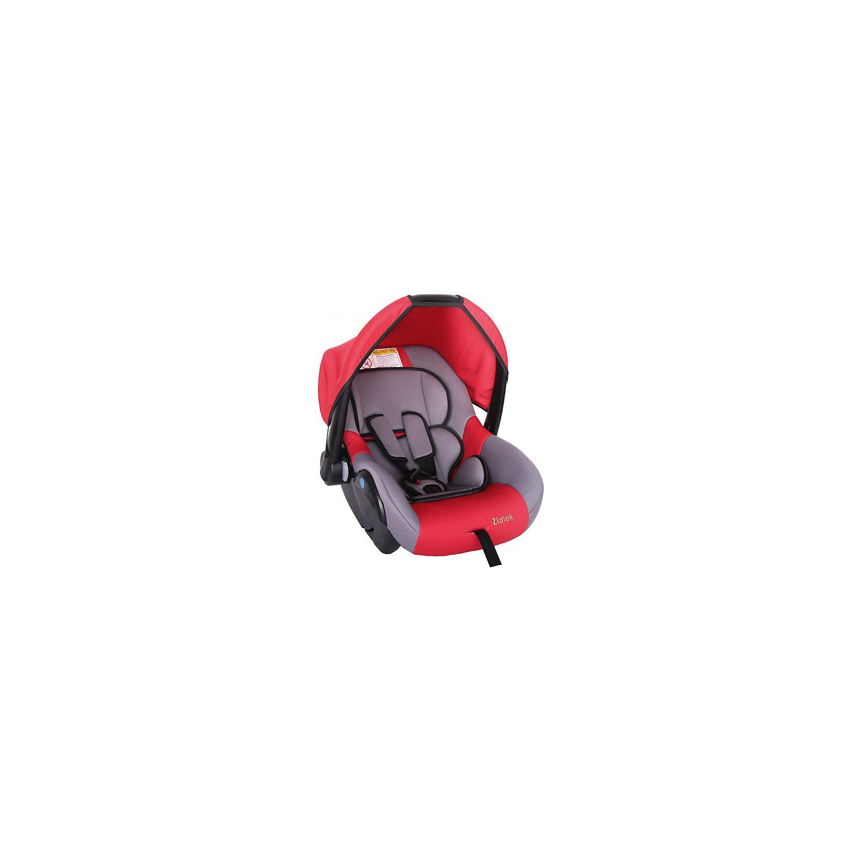 Автокресло Colibri 0-13 кг., Zlatek, красныйМодель кресла Colibri Zlatek предназначена для самой маленькой возрастной группы пассажиров с рождения до полутора лет. Кресло устанавливается в автомобиль против направления движения. Автокресло оснащено удобной ручкой для переноса, и съёмным чехлом, который убережет ребенка от прямых солнечных лучей.<br><br>Дополнительная информация:<br><br>- Материал: текстиль, пластик, металл.<br>- Размер: 60x37x36 см<br>- Возраст: от 0 до 18 месяцев<br>- Группа: 0+ (до 13 кг)<br>- Вес кресла: 3.7 кг<br>- Внутренние 3-точечные ремни безопасности<br><br>Автокресло Colibri 0-13 кг., Zlatek, красный можно купить в нашем интернет-магазине.<br><br>Ширина мм: 600<br>Глубина мм: 360<br>Высота мм: 370<br>Вес г: 3700<br>Возраст от месяцев: 0<br>Возраст до месяцев: 216<br>Пол: Унисекс<br>Возраст: Детский<br>SKU: 4809142