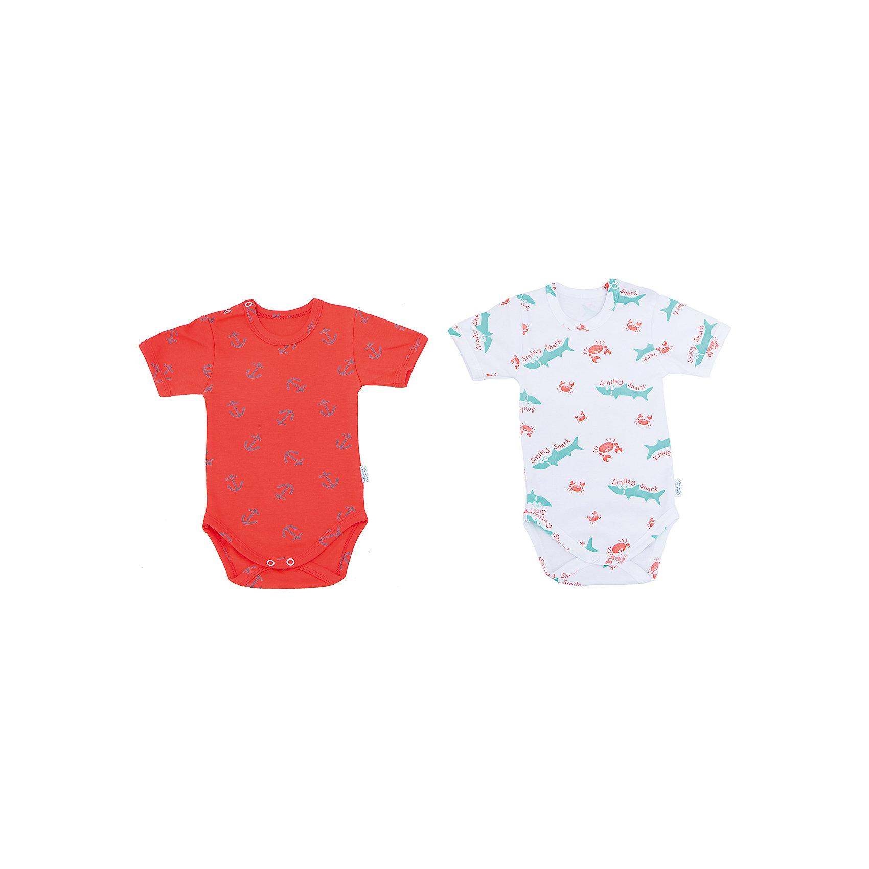 Боди, 2 шт. Веселый малышБоди<br>Одежда для малышей должна быть удобной и качественной - это один из необходимых факторов для правильного развития и хорошего самочувствия ребенка.<br>Эти боди отличаются высоким качеством швов, окантовкой краёв изделия, что позволяет им хорошо фиксироваться на теле малыша, не сползать и не натирать. Застежки - удобные кнопки, которые не мешают ребенку. Материал - интерлок. Это плотная ткань из натурального хлопка, гладкая, приятная на ощупь, дышащая и гипоаллергенная. Расцветка изделий позволяет легко комбинировать их с различной одеждой. В наборе - два боди разных цветов.<br><br>Дополнительная информация:<br><br>материал: 100% хлопок интерлок;<br>застежки: кнопки;<br>короткий рукав;<br>комплектация: 2 боди.<br><br>Комплект боди от бренда Веселый малыш можно купить в нашем магазине.<br><br>Ширина мм: 157<br>Глубина мм: 13<br>Высота мм: 119<br>Вес г: 200<br>Цвет: оранжевый<br>Возраст от месяцев: 2<br>Возраст до месяцев: 5<br>Пол: Унисекс<br>Возраст: Детский<br>Размер: 62,68,74,80<br>SKU: 4810200