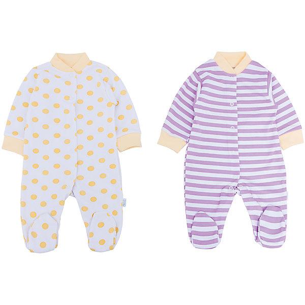 Комбинезон для девочки, 2 шт. Веселый малышКомбинезоны<br>В заботе о ребенке важно всё! Одежда для малышей должна быть удобной и качественной - это один из необходимых факторов для правильного развития и хорошего самочувствия ребенка.<br>Эти комбинезоны отличаются высоким качеством швов, продуманным кроем, что позволяет им хорошо фиксироваться на теле малыша, не сползать и не натирать. Застежки - удобные кнопки, которые не мешают ребенку. Материал - интерлок. Это плотная ткань из натурального хлопка, гладкая, приятная на ощупь, дышащая и гипоаллергенная. Расцветка изделий позволяет легко комбинировать их с различной одеждой. В наборе - два комбинезона разных цветов.<br><br>Дополнительная информация:<br><br>материал: 100% хлопок интерлок;<br>застежки: кнопки;<br>длинный рукав;<br>комплектация: 2 комбинезона.<br><br>Комплект комбинезонов от бренда Веселый малыш можно купить в нашем магазине.<br>Ширина мм: 157; Глубина мм: 13; Высота мм: 119; Вес г: 200; Цвет: желтый; Возраст от месяцев: 12; Возраст до месяцев: 15; Пол: Женский; Возраст: Детский; Размер: 74,56,62,68,80; SKU: 4810244;
