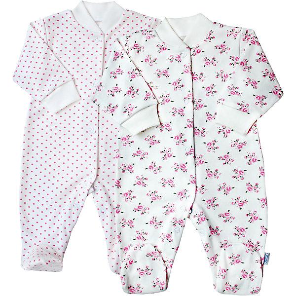 Комбинезон для девочки,2 шт. Веселый малышКомбинезоны<br>Одежда для малышей должна быть удобной и качественной - это один из необходимых факторов для правильного развития и хорошего самочувствия ребенка.<br>Эти комбинезоны отличаются высоким качеством швов, продуманным кроем, что позволяет им хорошо фиксироваться на теле малыша, не сползать и не натирать. Застежки - удобные кнопки, которые не мешают ребенку. Материал - интерлок. Это плотная ткань из натурального хлопка, гладкая, приятная на ощупь, дышащая и гипоаллергенная. Расцветка изделий позволяет легко комбинировать их с различной одеждой. В наборе - два комбинезона разных цветов.<br><br>Дополнительная информация:<br><br>материал: 100% хлопок интерлок;<br>застежки: кнопки;<br>длинный рукав;<br>комплектация: 2 комбинезона.<br><br>Комплект комбинезонов от бренда Веселый малыш можно купить в нашем магазине.<br>Ширина мм: 157; Глубина мм: 13; Высота мм: 119; Вес г: 200; Цвет: бежевый; Возраст от месяцев: 6; Возраст до месяцев: 9; Пол: Женский; Возраст: Детский; Размер: 74,56,62,68,80; SKU: 4810250;