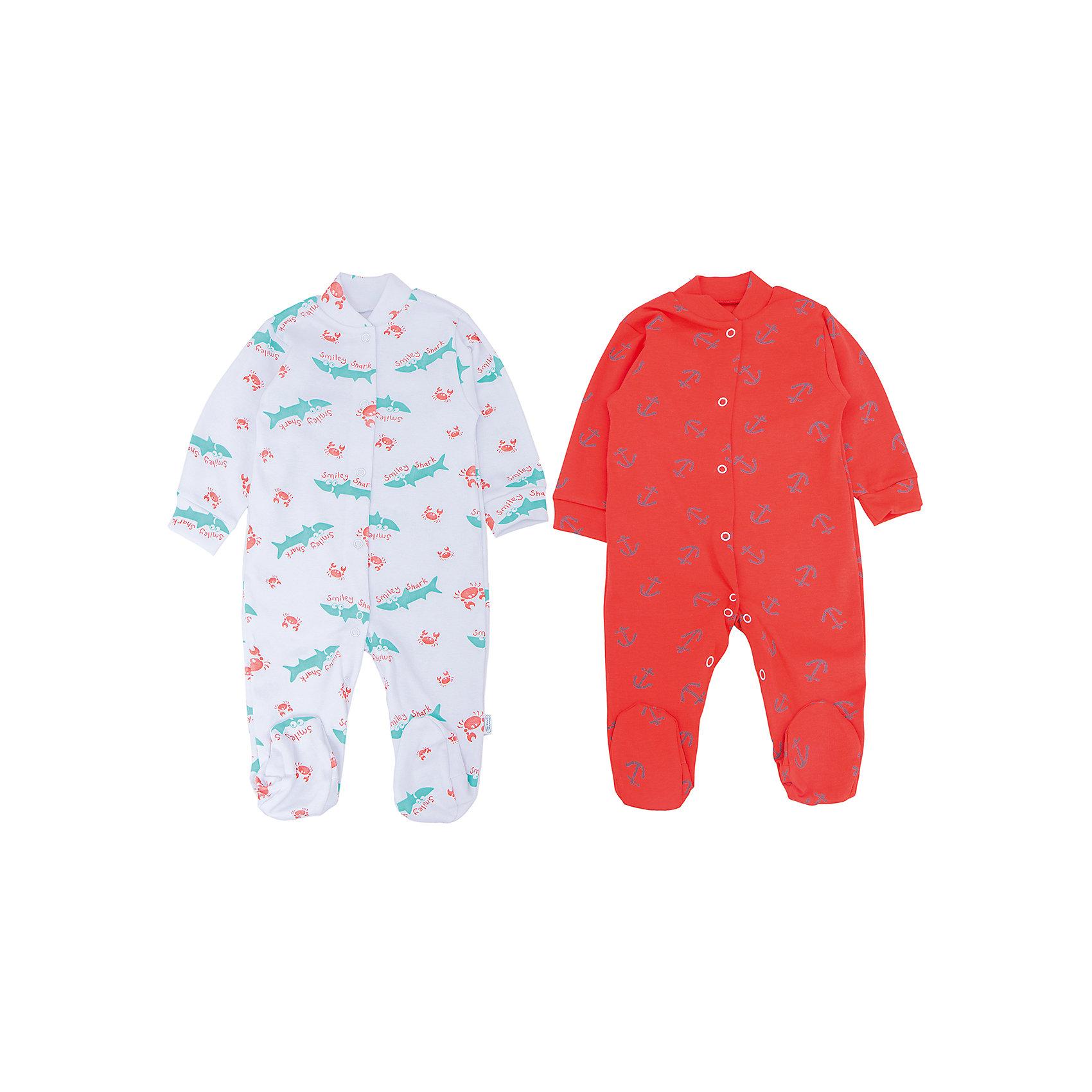 Комбинезон, 2 шт. Веселый малышВ заботе о ребенке важно всё! Одежда для малышей должна быть удобной и качественной - это один из необходимых факторов для правильного развития и хорошего самочувствия ребенка.<br>Эти комбинезоны отличаются высоким качеством швов, продуманным кроем, что позволяет им хорошо фиксироваться на теле малыша, не сползать и не натирать. Застежки - удобные кнопки, которые не мешают ребенку. Материал - интерлок. Это плотная ткань из натурального хлопка, гладкая, приятная на ощупь, дышащая и гипоаллергенная. Расцветка изделий позволяет легко комбинировать их с различной одеждой. В наборе - два комбинезона разных цветов.<br><br>Дополнительная информация:<br><br>материал: 100% хлопок интерлок;<br>застежки: кнопки;<br>длинный рукав;<br>комплектация: 2 комбинезона.<br><br>Комплект комбинезонов от бренда Веселый малыш можно купить в нашем магазине.<br><br>Ширина мм: 157<br>Глубина мм: 13<br>Высота мм: 119<br>Вес г: 200<br>Цвет: оранжевый<br>Возраст от месяцев: 6<br>Возраст до месяцев: 9<br>Пол: Унисекс<br>Возраст: Детский<br>Размер: 74,56,80,68,62<br>SKU: 4810268