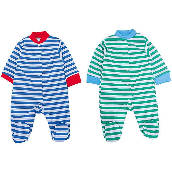 Комбинезон для мальчика, 2 шт. Веселый малышКомбинезоны<br>Одежда для малышей должна быть удобной и качественной - это один из необходимых факторов для правильного развития и хорошего самочувствия ребенка.<br>Эти комбинезоны отличаются высоким качеством швов, продуманным кроем, что позволяет им хорошо фиксироваться на теле малыша, не сползать и не натирать. Застежки - удобные кнопки, которые не мешают ребенку. Материал - интерлок. Это плотная ткань из натурального хлопка, гладкая, приятная на ощупь, дышащая и гипоаллергенная. Расцветка изделий позволяет легко комбинировать их с различной одеждой. В наборе - два комбинезона разных цветов.<br><br>Дополнительная информация:<br><br>материал: 100% хлопок интерлок;<br>застежки: кнопки;<br>длинный рукав;<br>комплектация: 2 комбинезона.<br><br>Комплект комбинезонов от бренда Веселый малыш можно купить в нашем магазине.<br>Ширина мм: 157; Глубина мм: 13; Высота мм: 119; Вес г: 200; Цвет: зеленый; Возраст от месяцев: 3; Возраст до месяцев: 6; Пол: Мужской; Возраст: Детский; Размер: 62,80,56,74,68; SKU: 4810274;