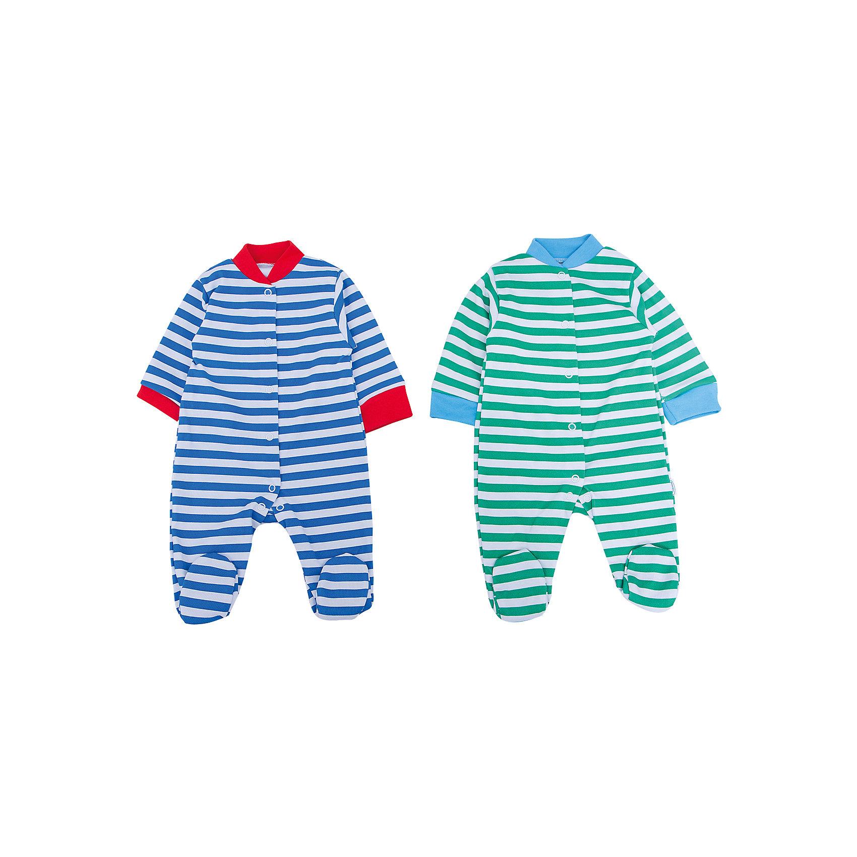 Комбинезон для мальчика, 2 шт. Веселый малышКомбинезоны<br>Одежда для малышей должна быть удобной и качественной - это один из необходимых факторов для правильного развития и хорошего самочувствия ребенка.<br>Эти комбинезоны отличаются высоким качеством швов, продуманным кроем, что позволяет им хорошо фиксироваться на теле малыша, не сползать и не натирать. Застежки - удобные кнопки, которые не мешают ребенку. Материал - интерлок. Это плотная ткань из натурального хлопка, гладкая, приятная на ощупь, дышащая и гипоаллергенная. Расцветка изделий позволяет легко комбинировать их с различной одеждой. В наборе - два комбинезона разных цветов.<br><br>Дополнительная информация:<br><br>материал: 100% хлопок интерлок;<br>застежки: кнопки;<br>длинный рукав;<br>комплектация: 2 комбинезона.<br><br>Комплект комбинезонов от бренда Веселый малыш можно купить в нашем магазине.<br><br>Ширина мм: 157<br>Глубина мм: 13<br>Высота мм: 119<br>Вес г: 200<br>Цвет: зеленый<br>Возраст от месяцев: 3<br>Возраст до месяцев: 6<br>Пол: Мужской<br>Возраст: Детский<br>Размер: 68,62,74,56,80<br>SKU: 4810274