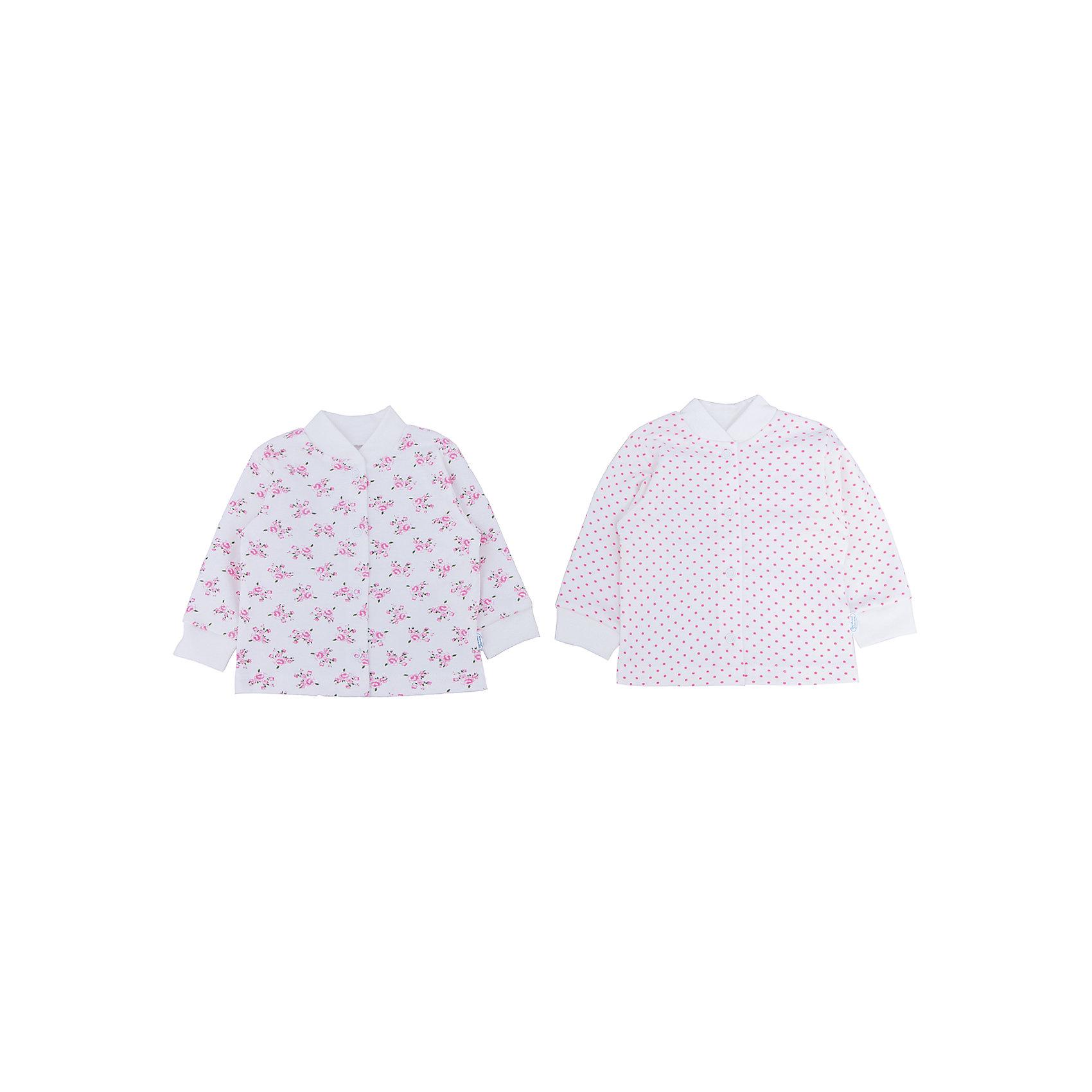 Веселый малыш Кофточка для девочки,2 шт. Веселый малыш веселый малыш футболка для девочки веселый малыш