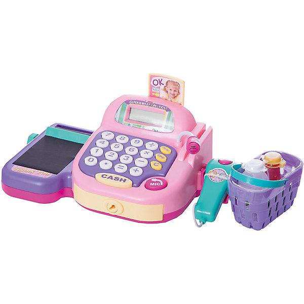 Набор Супермаркет: кассовый аппарат,продукты, со светом , звуком, KeenwayДетский супермаркет<br>Девочки всегда стараются подражать тому, что видят, поэтому набор Супермаркет: кассовый аппарат, продукты Keenway - отличный подарок ребенку. Это красочная игрушка, которая обязательно понравится девочке. Она выполнена в виде предметов, которые можно встретить в магазине: это касса со сканером и микрофоном (со звуковыми и световыми эффектами), корзина для покупок , ключ для кассы, набор денег, две пластиковые карты для оплаты продуктов и набор самих продуктов, в числе которых находятся кетчуп, печенье, вода и молоко! <br>Игрушка по габаритам идеально подходит для маленьких ручек малыша. Весит совсем немного. Такие игрушки помогают развить мелкую моторику, логическое мышление и воображение ребенка. Эта игрушка выполнена из высококачественного прочного пластика, безопасного для детей.<br>  <br>Дополнительная информация:<br><br>цвет: разноцветный;<br>материал: пластик;<br>размер игрушки: 0,345х0,2х0,165 м;<br>батарейки: 2ХхАА, в комплекте;<br>комплектация: это касса со сканером и микрофоном (со звуковыми и световыми эффектами), корзина для покупок , ключ для кассы, набор денег, две пластиковые карты для оплаты продуктов, набор продуктов;<br>вес:  1,2 кг.<br><br>Набор Супермаркет: кассовый аппарат, продукты, от компании Keenway можно купить в нашем магазине.<br>Ширина мм: 101; Глубина мм: 203; Высота мм: 203; Вес г: 543; Возраст от месяцев: 36; Возраст до месяцев: 120; Пол: Унисекс; Возраст: Детский; SKU: 4810973;