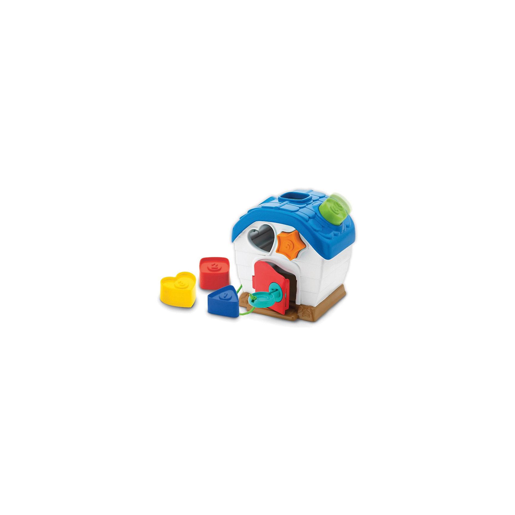 Домик-сортер, KeenwayСортеры<br>Домик-сортер от Keenway - отличный подарок ребенку. Это красочная игрушка, которая обязательно понравится малышу. Она выполнена в виде симпатичного домика и формочек, для которых нужно подобрать соответствующее место. Замечательный игровой набор надолго увлечет девочку!<br>Игрушка по габаритам идеально подходит для маленьких ручек малыша. Весит совсем немного. Такие игрушки помогают развить мелкую моторику, логическое мышление и воображение ребенка. Эта игрушка выполнена из высококачественного прочного пластика, безопасного для детей.<br>  <br>Дополнительная информация:<br><br>цвет: разноцветный;<br>материал: пластик;<br>размер:  16.5 х 12.5 х 16.5  см;<br>комплектация:  сортер, 5 формочек;<br>вес: 564 г.<br><br>Домик-сортер от компании Keenway можно купить в нашем магазине.<br><br>Ширина мм: 345<br>Глубина мм: 200<br>Высота мм: 165<br>Вес г: 1200<br>Возраст от месяцев: 36<br>Возраст до месяцев: 120<br>Пол: Унисекс<br>Возраст: Детский<br>SKU: 4810975