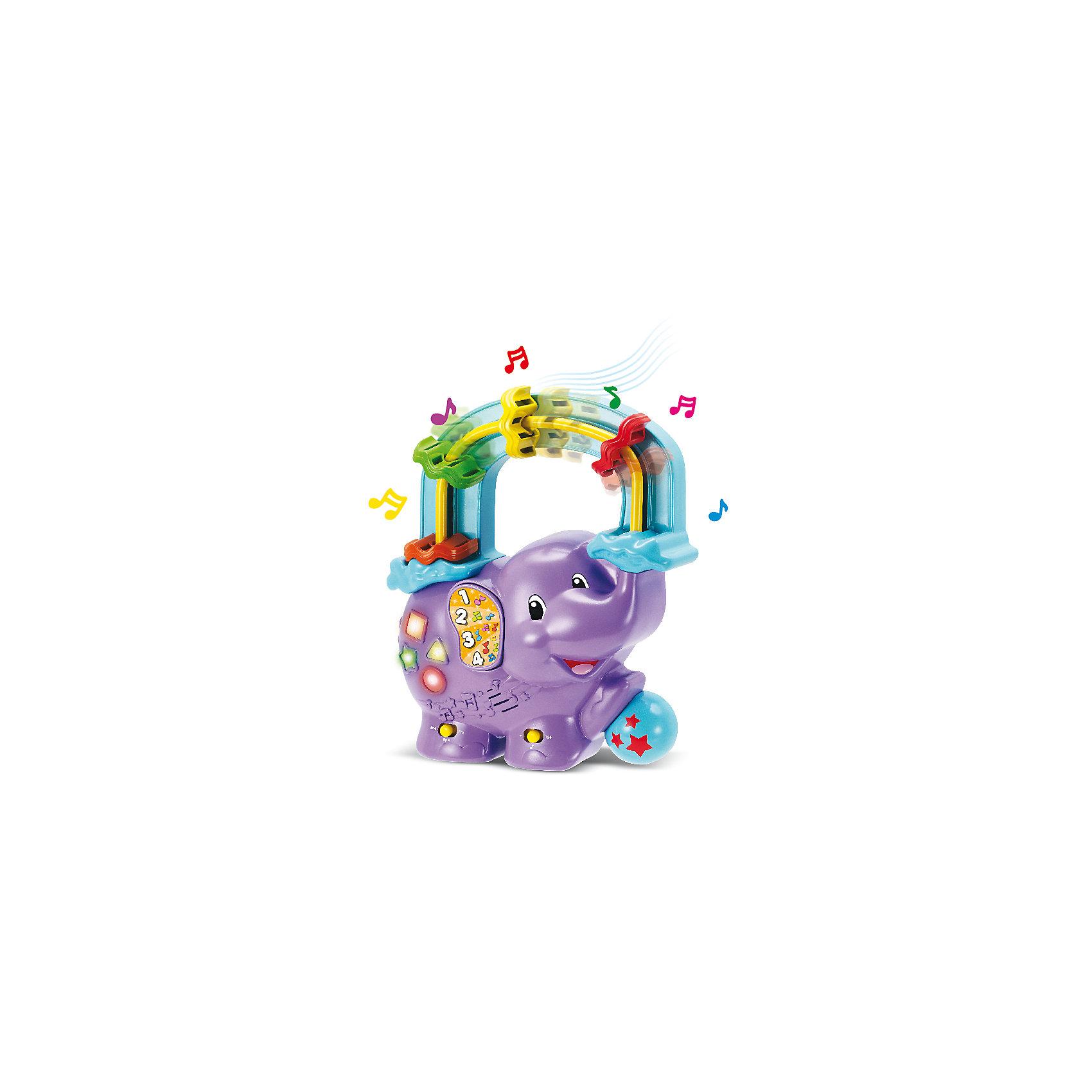Музыкальная игрушка-считалка Веселый слоник, KeenwayМузыкальные инструменты и игрушки<br>Музыкальная игрушка-считалка Веселый слоник от  Keenway - отличный подарок ребенку. Это красочная игрушка, которая обязательно понравится малышу. Она выполнена в виде веселого слоника. Игрушка воспроизводит музыку и считает на трех языках — английском, французском и испанском.<br>Игрушка по габаритам идеально подходит для маленьких ручек малыша. Весит совсем немного. Такие игрушки помогают развить мелкую моторику, логическое мышление и воображение ребенка. Эта игрушка выполнена из высококачественного прочного пластика, безопасного для детей.<br>  <br>Дополнительная информация:<br><br>цвет: разноцветный;<br>материал: пластик;<br>размер: 22 x 8 x 27 см;<br>батарейки: 2ХхАА, в комплекте;<br>вес:  500 г.<br><br>Музыкальную игрушку-считалку Веселый слоник от компании Keenway можно купить в нашем магазине.<br><br>Ширина мм: 240<br>Глубина мм: 150<br>Высота мм: 200<br>Вес г: 506<br>Возраст от месяцев: 36<br>Возраст до месяцев: 120<br>Пол: Унисекс<br>Возраст: Детский<br>SKU: 4810978