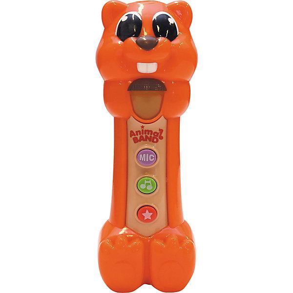 Поющая Белочка, KeenwayДетские музыкальные инструменты<br>Музыкальная игрушка Поющая Белочка от  Keenway - отличный подарок ребенку. Это красочная игрушка, которая обязательно понравится малышу. Она выполнена в виде забавной белки. Нажав на зеленую кнопку на животе игрушки, ребенок услышит веселые песенки, а если нажмет на красную кнопочку - то забавные звуки. При этом звуки сопровождаются световыми эффектами. <br>Игрушка по габаритам идеально подходит для маленьких ручек малыша. Весит совсем немного. Такие игрушки помогают развить мелкую моторику, логическое мышление и воображение ребенка. Эта игрушка выполнена из высококачественного прочного пластика, безопасного для детей.<br>  <br>Дополнительная информация:<br><br>цвет: разноцветный;<br>материал: пластик;<br>размер упаковки: 21х10х13 см;<br>батарейки: 3ХхАА, в комплекте.<br><br>Игрушку Поющая Белочка от компании Keenway можно купить в нашем магазине.<br>Ширина мм: 420; Глубина мм: 220; Высота мм: 150; Вес г: 1225; Возраст от месяцев: 36; Возраст до месяцев: 120; Пол: Унисекс; Возраст: Детский; SKU: 4810985;