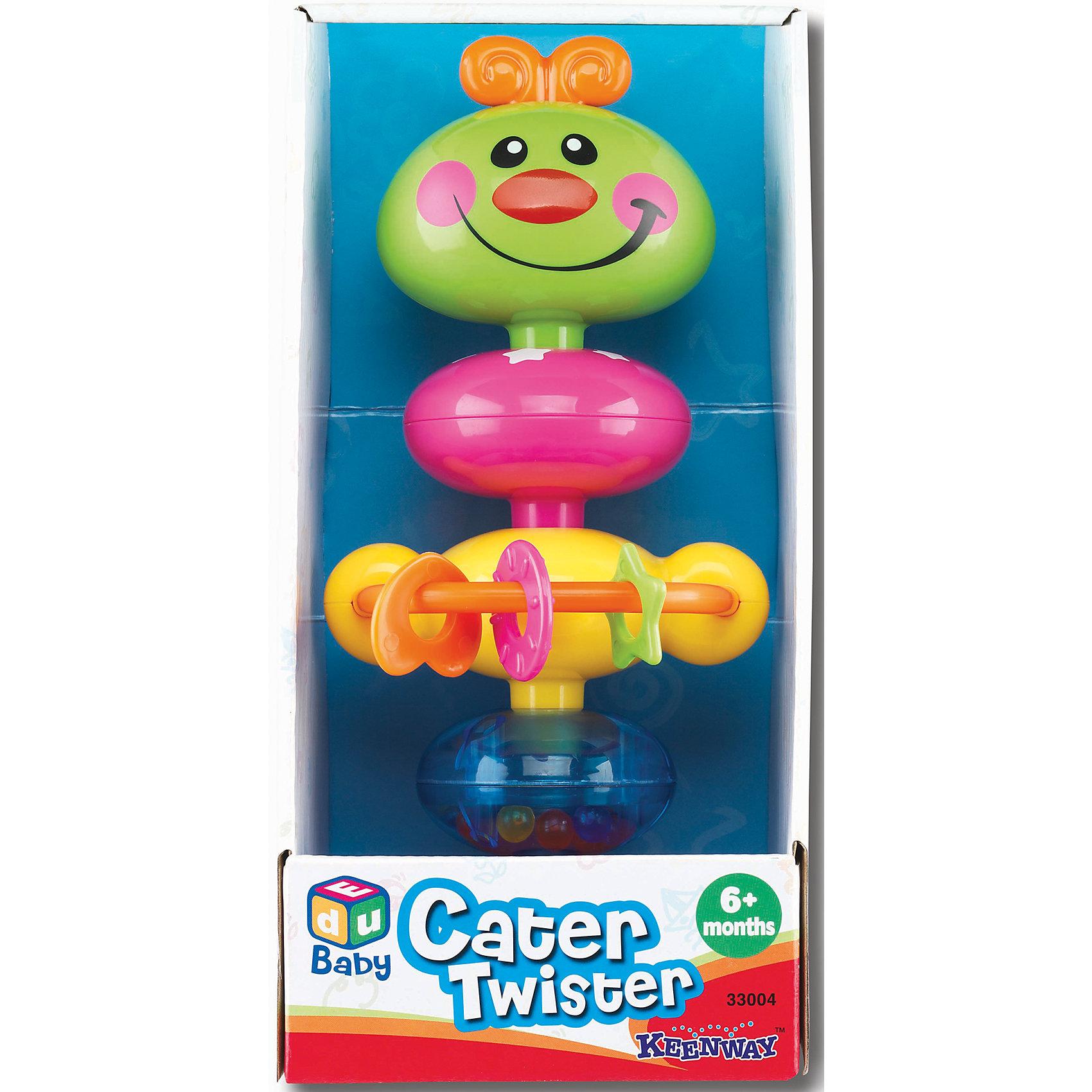 Веселая гусеница, KeenwayВеселая гусеница от  Keenway - многофункциональная игрушка для самых маленьких. Это красочный предмет, которая обязательно понравится малышу. Она выполнена в виде гусеницы-погремушки. Она имеет подвижные секции: веселая голова с бантиком и доброй улыбкой, туловище и в нижней части игрушки прозрачная сфера, в которой расположены маленькие цветные шарики, гремящие при их потряхивании. В середине конструкции имеется дуга, на которой нанизаны маленькие прорезыватели для зубов в форме сердечка, звездочки и кружочка. Ребенок может их также вращать или передвигать из стороны в сторону вдоль дуги. <br>Игрушка по габаритам идеально подходит для маленьких ручек малыша. Весит совсем немного. Такие игрушки помогают развить мелкую моторику, логическое мышление и воображение ребенка. Эта игрушка выполнена из высококачественного прочного пластика, безопасного для детей.<br>  <br>Дополнительная информация:<br><br>цвет: разноцветный;<br>материал: пластик;<br>размер упаковки: 24 x 12 x 10 см;<br>вес: 380 г.<br><br>Игрушку Веселая гусеница от компании Keenway можно купить в нашем магазине.<br><br>Ширина мм: 470<br>Глубина мм: 130<br>Высота мм: 310<br>Вес г: 1160<br>Возраст от месяцев: 36<br>Возраст до месяцев: 120<br>Пол: Женский<br>Возраст: Детский<br>SKU: 4810991