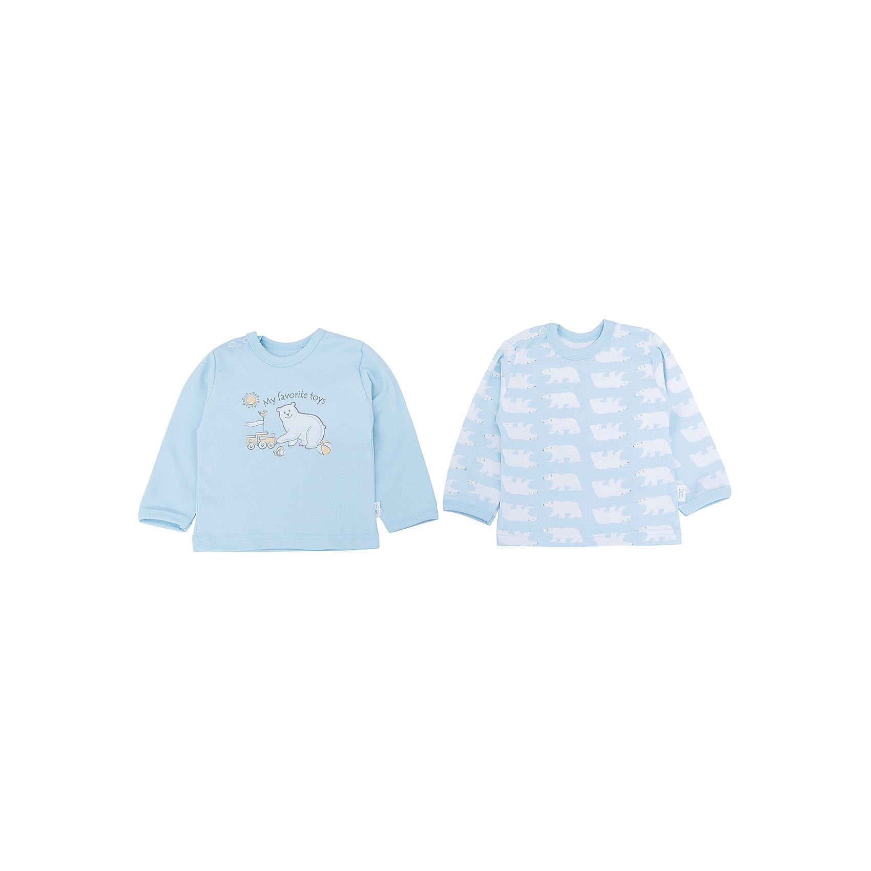 Футболка для мальчика,2 шт. Веселый малышКомплект для мальчика Умка (Фуфайка\футболка с длинным рукавом на кнопках,с окантовкой-2шт.)  Состав: 100%хлопок<br><br>Ширина мм: 157<br>Глубина мм: 13<br>Высота мм: 119<br>Вес г: 200<br>Цвет: голубой<br>Возраст от месяцев: 3<br>Возраст до месяцев: 6<br>Пол: Мужской<br>Возраст: Детский<br>Размер: 68,62,80,74<br>SKU: 4810996