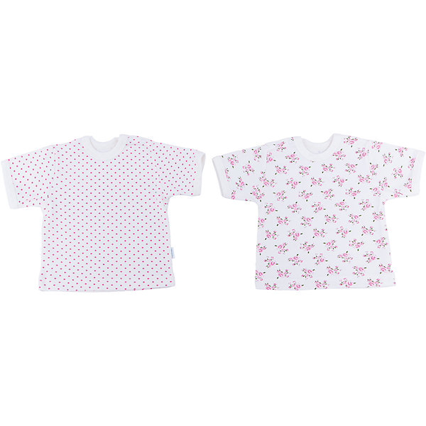 Футболка для девочки, 2 шт. Веселый малышФутболки, топы<br>Каждый предмет, предназначающийся ребенку, необходимо тщательно выбирать. Одежда для малышей должна быть удобной и качественной - это один из необходимых факторов для правильного развития и хорошего самочувствия ребенка.<br>Эти футболки отличаются высоким качеством швов, окантовкой краёв, что позволяет им хорошо фиксироваться на теле малыша, не сползать и не натирать. Застежки - удобные кнопки, которые не мешают ребенку. Материал - интерлок. Это плотная ткань из натурального хлопка, гладкая, приятная на ощупь, дышащая и гипоаллергенная. Расцветка изделий позволяет легко комбинировать их с различной одеждой. В наборе - две футболки разных цветов.<br><br>Дополнительная информация:<br><br>материал: 100% хлопок интерлок;<br>застежки: кнопки;<br>короткий рукав;<br>комплектация: 2 футболки.<br><br>Комплект футболок от бренда Веселый малыш можно купить в нашем магазине.<br><br>Ширина мм: 157<br>Глубина мм: 13<br>Высота мм: 119<br>Вес г: 200<br>Цвет: бежевый<br>Возраст от месяцев: 12<br>Возраст до месяцев: 18<br>Пол: Женский<br>Возраст: Детский<br>Размер: 86,74,68,80<br>SKU: 4811015