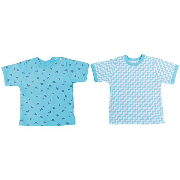 Футболка для мальчика, 2 шт. Веселый малышФутболки, топы<br>Каждый предмет, предназначающийся ребенку, необходимо тщательно выбирать. Одежда для малышей должна быть удобной и качественной - это один из необходимых факторов для правильного развития и хорошего самочувствия ребенка.<br>Эти футболки отличаются высоким качеством швов, окантовкой краёв, что позволяет им хорошо фиксироваться на теле малыша, не сползать и не натирать. Застежки - удобные кнопки, которые не мешают ребенку. Материал - интерлок. Это плотная ткань из натурального хлопка, гладкая, приятная на ощупь, дышащая и гипоаллергенная. Расцветка изделий позволяет легко комбинировать их с различной одеждой. В наборе - две футболки разных цветов.<br><br>Дополнительная информация:<br><br>материал: 100% хлопок интерлок;<br>застежки: кнопки;<br>короткий рукав;<br>комплектация: 2 футболки.<br><br>Комплект футболок от бренда Веселый малыш можно купить в нашем магазине.<br><br>Ширина мм: 157<br>Глубина мм: 13<br>Высота мм: 119<br>Вес г: 200<br>Цвет: бирюзовый<br>Возраст от месяцев: 6<br>Возраст до месяцев: 9<br>Пол: Мужской<br>Возраст: Детский<br>Размер: 74,80,68<br>SKU: 4811020