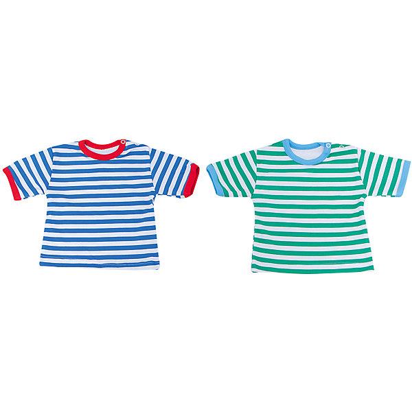 Футболка для мальчика, 2 шт. Веселый малышФутболки, топы<br>Выбирая одежду для ребенка, отвественные родители обращают внимение на множество деталей. Одежда для малышей должна быть удобной и качественной - это один из необходимых факторов для правильного развития и хорошего самочувствия ребенка.<br>Эти футболки отличаются высоким качеством швов, окантовкой краёв, что позволяет им хорошо фиксироваться на теле малыша, не сползать и не натирать. Застежки - удобные кнопки, которые не мешают ребенку. Материал - интерлок. Это плотная ткань из натурального хлопка, гладкая, приятная на ощупь, дышащая и гипоаллергенная. Расцветка изделий позволяет легко комбинировать их с различной одеждой. В наборе - две футболки разных цветов.<br><br>Дополнительная информация:<br><br>материал: 100% хлопок интерлок;<br>застежки: кнопки;<br>короткий рукав;<br>комплектация: 2 футболки.<br><br>Комплект футболок от бренда Веселый малыш можно купить в нашем магазине.<br><br>Ширина мм: 157<br>Глубина мм: 13<br>Высота мм: 119<br>Вес г: 200<br>Цвет: зеленый<br>Возраст от месяцев: 6<br>Возраст до месяцев: 9<br>Пол: Мужской<br>Возраст: Детский<br>Размер: 74,86,68,80<br>SKU: 4811034