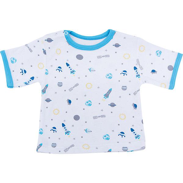 Футболка для мальчика Веселый малышФутболки, топы<br>Малыши нуждаются в особом уходе и заботе. Одежда для малышей должна быть удобной и качественной - это один из необходимых факторов для правильного развития и хорошего самочувствия ребенка.<br>Эта футболка отличается высоким качеством швов, окантовкой краёв изделия, что позволяет ему хорошо фиксироваться на теле малыша, не сползать и не натирать. Застежки - удобные кнопки, которые не мешают ребенку. Материал - интерлок. Это плотная ткань из натурального хлопка, гладкая, приятная на ощупь, дышащая и гипоаллергенная. Расцветка изделия позволяет легко комбинировать его с различной одеждой. <br><br>Дополнительная информация:<br><br>материал: 100% хлопок интерлок;<br>застежки: кнопки;<br>короткий рукав.<br><br>Футболку от бренда Веселый малыш можно купить в нашем магазине.<br>Ширина мм: 157; Глубина мм: 13; Высота мм: 119; Вес г: 200; Цвет: желтый; Возраст от месяцев: 3; Возраст до месяцев: 6; Пол: Женский; Возраст: Детский; Размер: 68,80,86,74; SKU: 4811039;