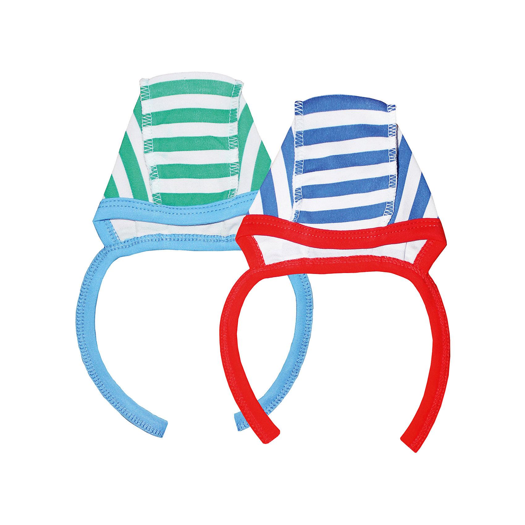 Чепчик для мальчика, 2 шт. Веселый малышШапочки<br>Малыши нуждаются в особом уходе и заботе. Одежда для малышей должна быть удобной и качественной - это один из необходимых факторов для правильного развития и хорошего самочувствия ребенка.<br>Эти чепчики отличаются высоким качеством швов, продуманным кроем, что позволяет им хорошо фиксироваться на голове малыша, не сползать и не натирать.  Материал - интерлок. Это плотная ткань из натурального хлопка, гладкая, приятная на ощупь, дышащая и гипоаллергенная. Расцветка изделий позволяет легко комбинировать их с различной одеждой. В наборе - два чепчика разных расцветок.<br><br>Дополнительная информация:<br><br>материал: 100% хлопок интерлок;<br>завязки;<br>комплектация: 2 чепчика.<br><br>Комплект чепчиков от бренда Веселый малыш можно купить в нашем магазине.<br><br>Ширина мм: 157<br>Глубина мм: 13<br>Высота мм: 119<br>Вес г: 200<br>Цвет: зеленый<br>Возраст от месяцев: 6<br>Возраст до месяцев: 9<br>Пол: Мужской<br>Возраст: Детский<br>Размер: 44,52,40,48<br>SKU: 4811074